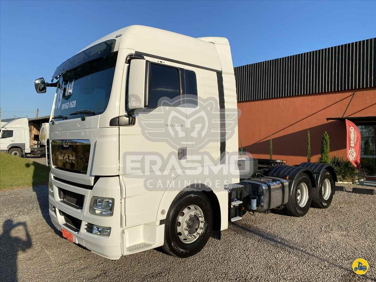 CAMINHAO MAN TGX 29 480 Cavalo Mecânico Truck 6x2 Erasmo Caminhões TUBARAO SANTA CATARINA SC
