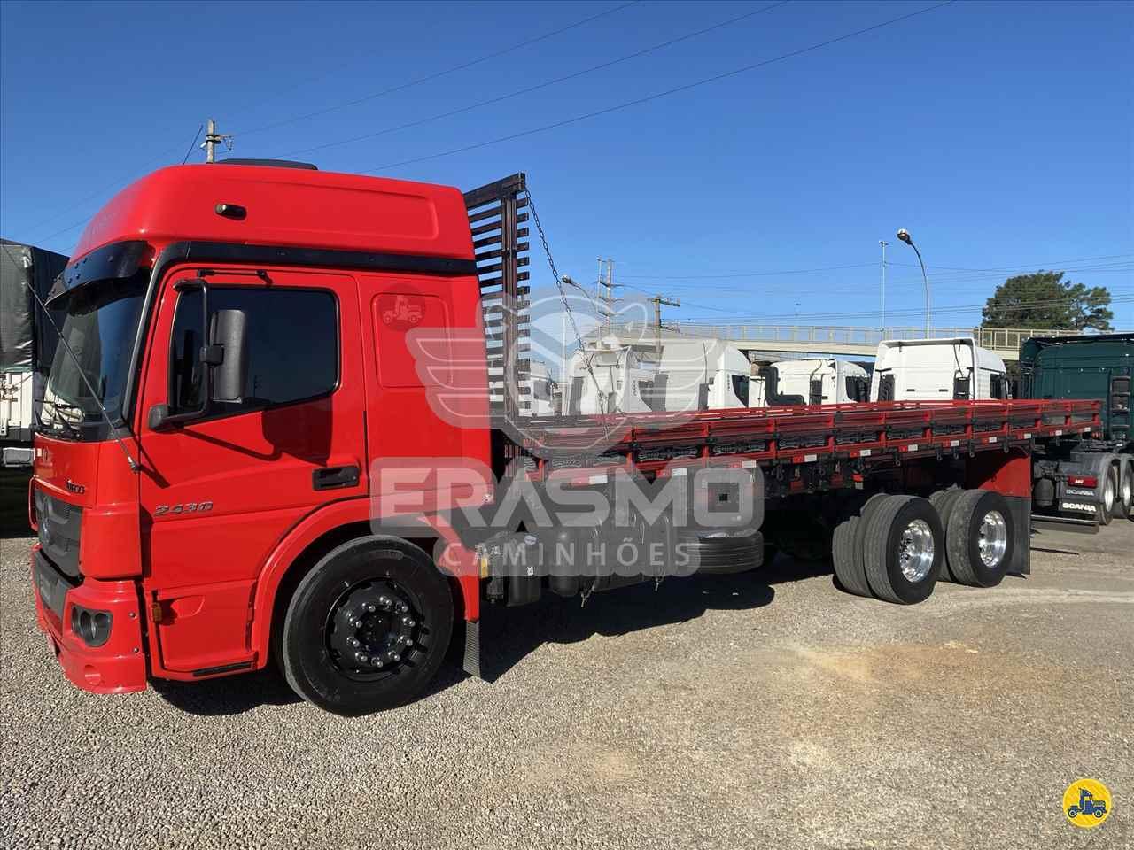 CAMINHAO MERCEDES-BENZ MB 2430 Carga Seca Truck 6x2 Erasmo Caminhões TUBARAO SANTA CATARINA SC