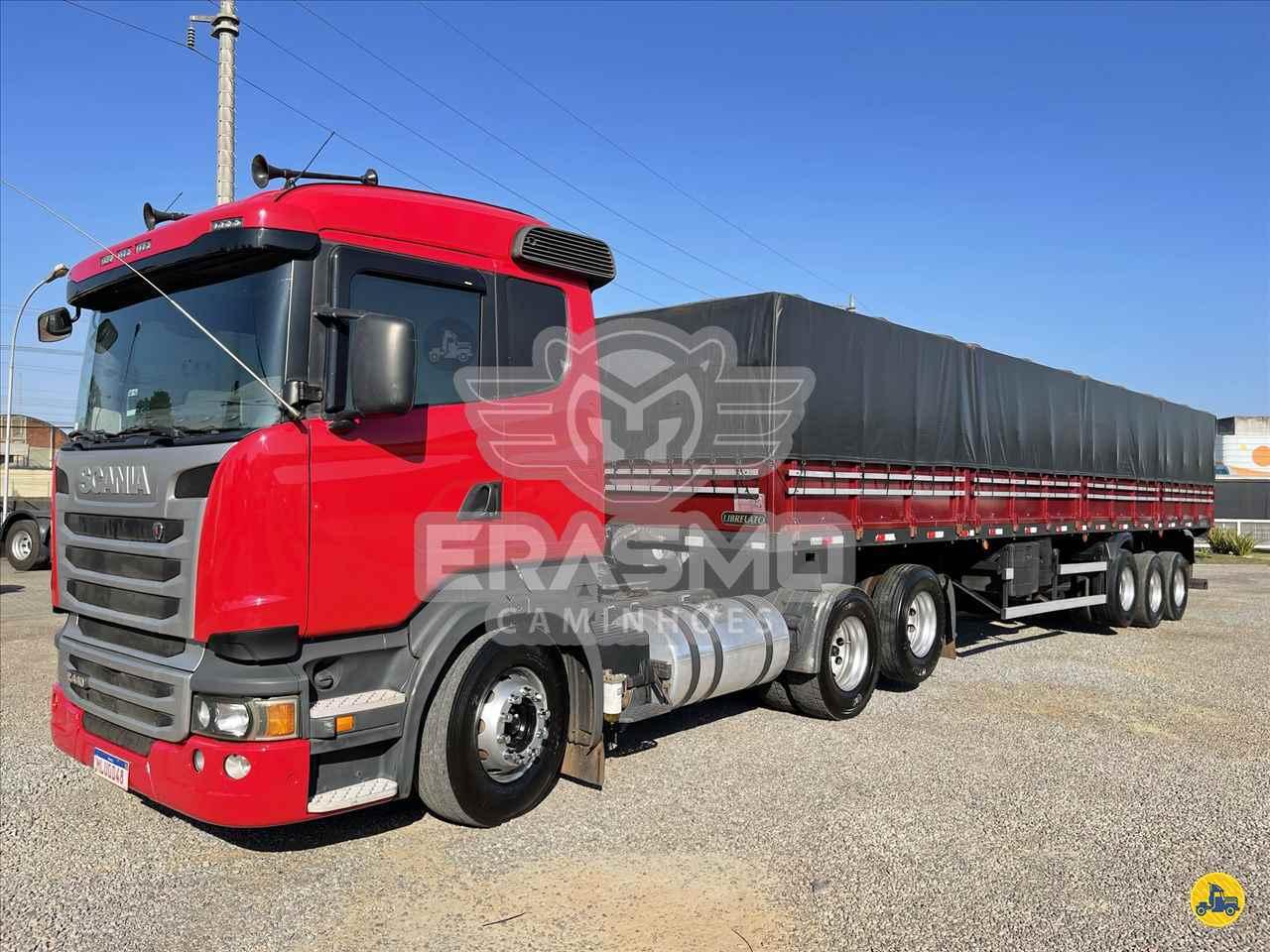 CAMINHAO SCANIA SCANIA 440 Cavalo Mecânico Truck 6x2 Erasmo Caminhões TUBARAO SANTA CATARINA SC