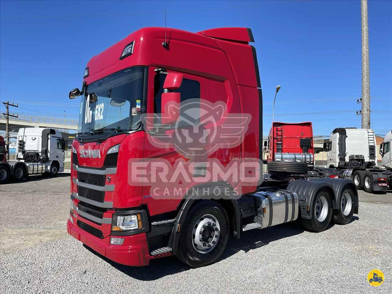 CAMINHAO SCANIA SCANIA 450 Cavalo Mecânico Truck 6x2 Erasmo Caminhões TUBARAO SANTA CATARINA SC