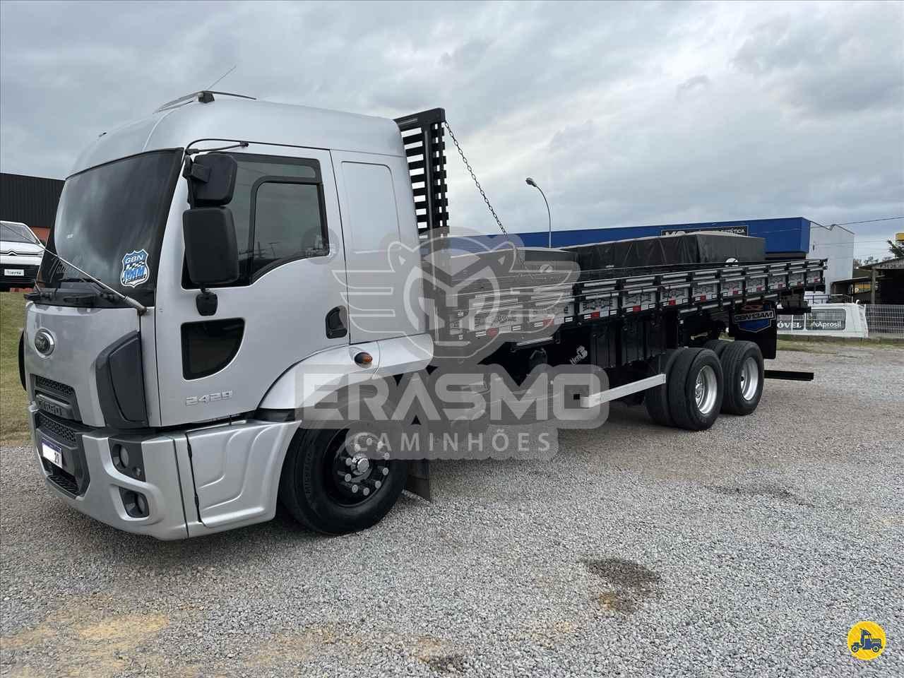 CAMINHAO FORD CARGO 2429 Carga Seca Truck 6x2 Erasmo Caminhões TUBARAO SANTA CATARINA SC