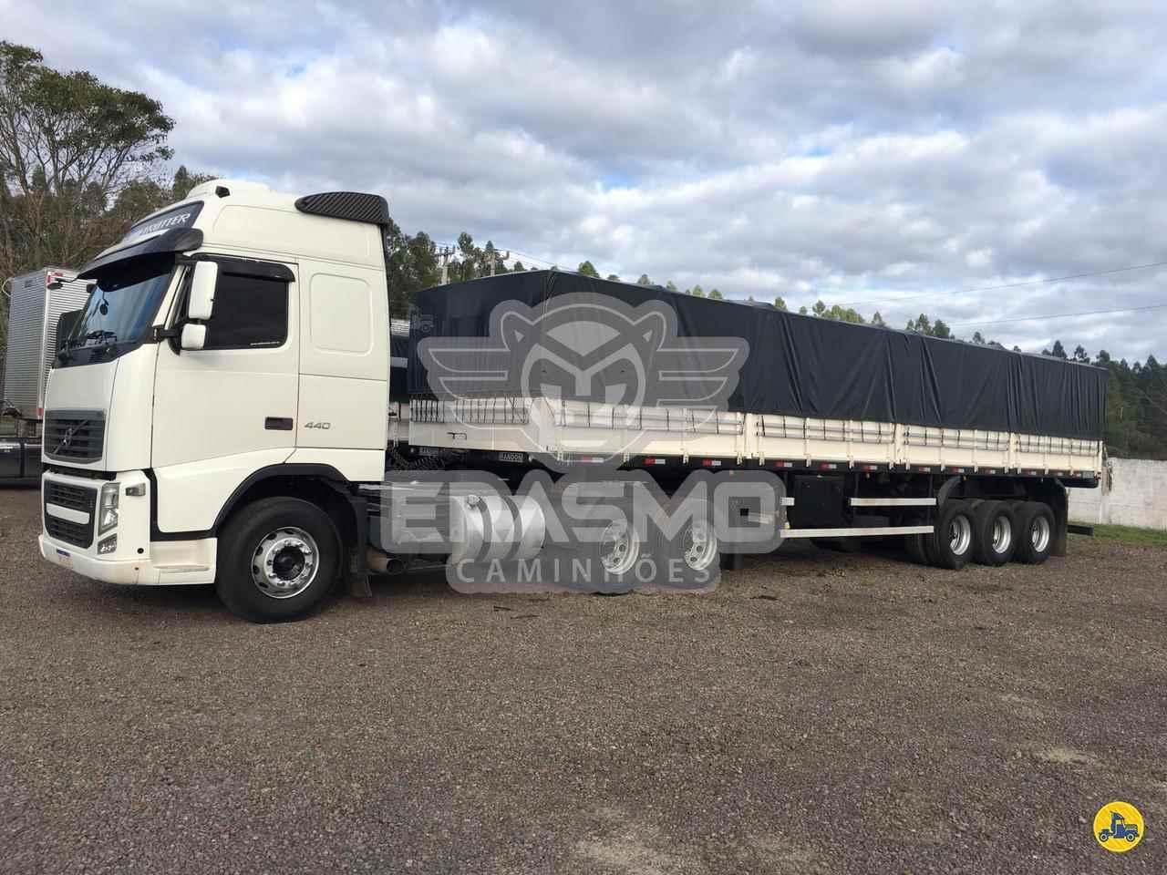 CAMINHAO VOLVO VOLVO FH 440 Graneleiro Truck 6x2 Erasmo Caminhões TUBARAO SANTA CATARINA SC