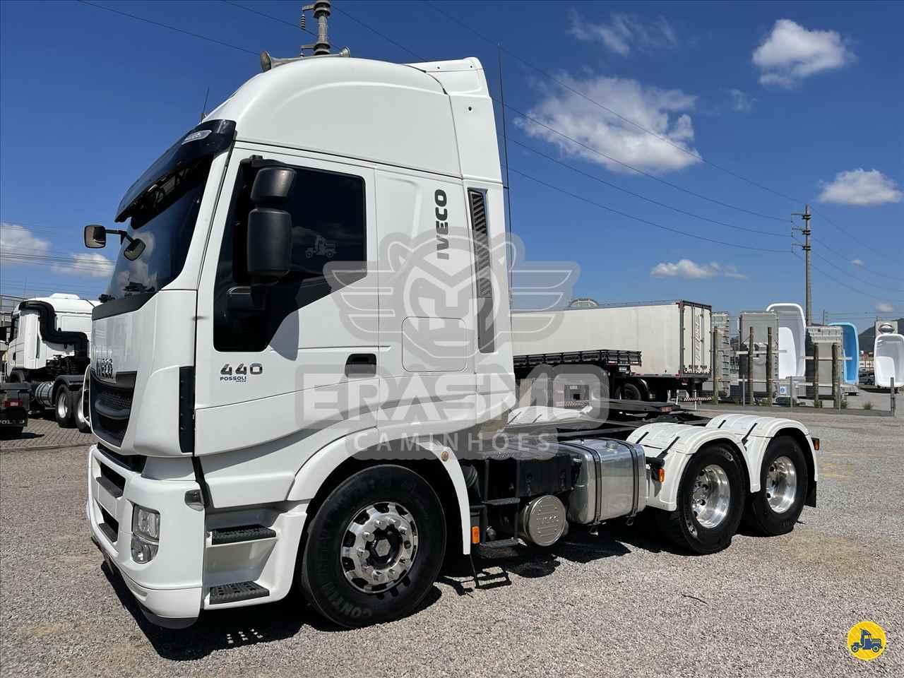 CAMINHAO IVECO STRALIS 440 Cavalo Mecânico Truck 6x2 Erasmo Caminhões TUBARAO SANTA CATARINA SC