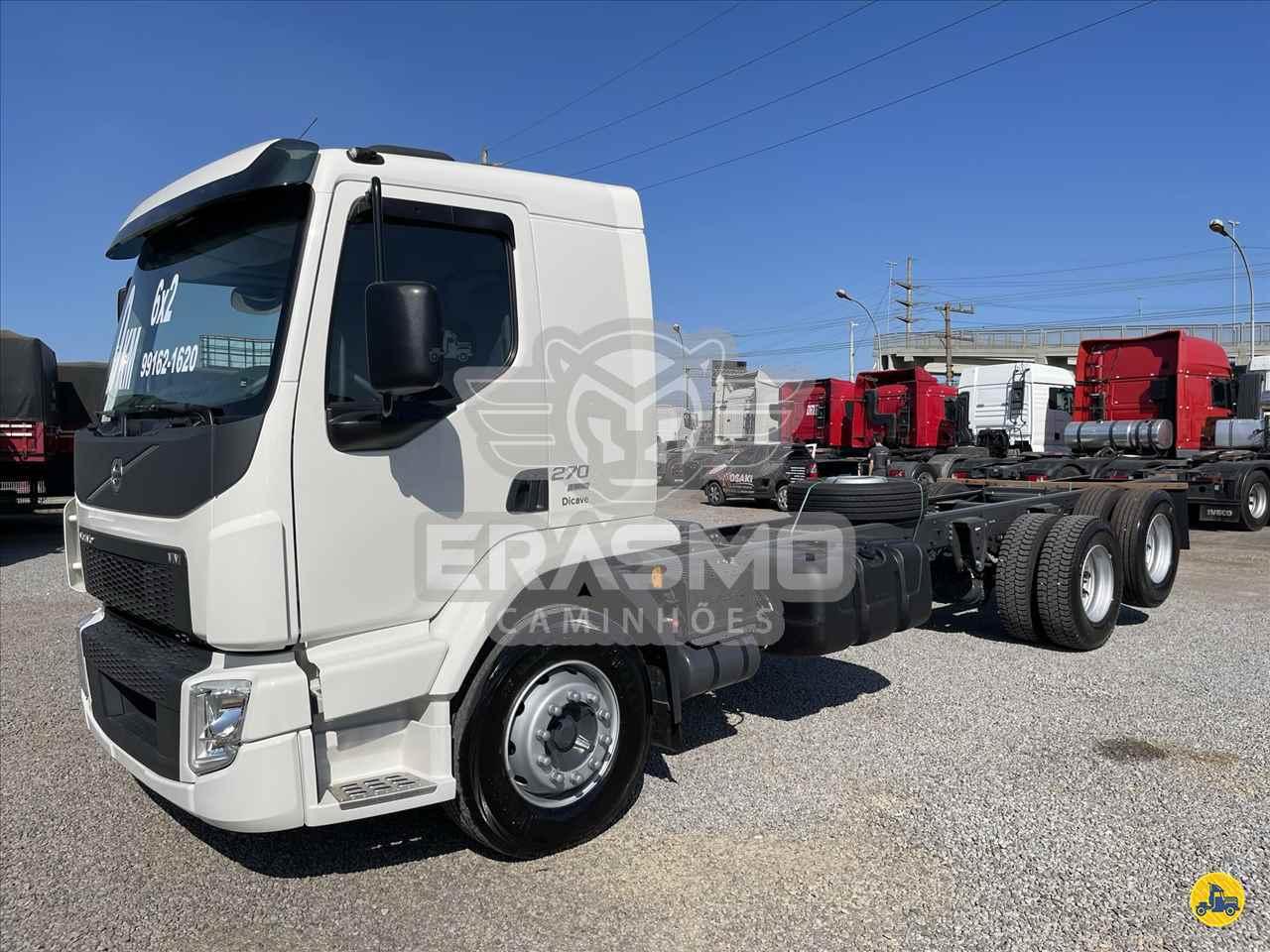 CAMINHAO VOLVO VOLVO VM 270 Chassis Truck 6x2 Erasmo Caminhões TUBARAO SANTA CATARINA SC