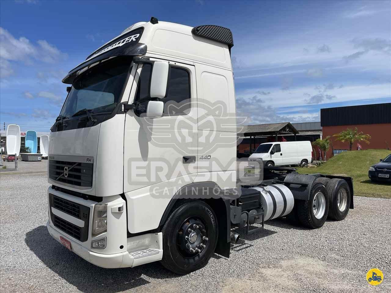 CAMINHAO VOLVO VOLVO FH 440 Cavalo Mecânico Truck 6x2 Erasmo Caminhões TUBARAO SANTA CATARINA SC