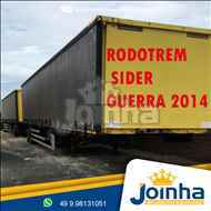 RODOTREM BAU SIDER  2014/2014 Joinha Implementos