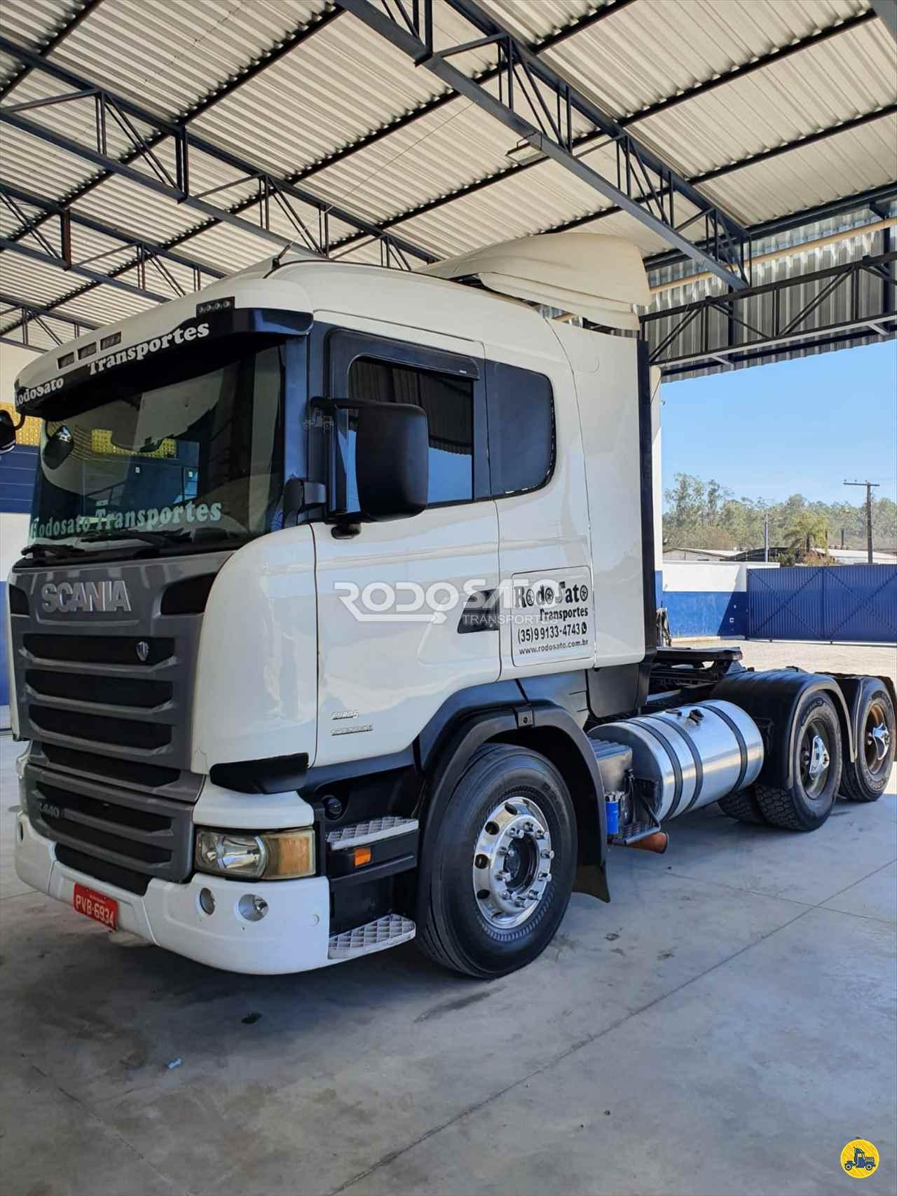 CAMINHAO SCANIA SCANIA 440 Cavalo Mecânico Truck 6x2 RodoSato Transportes ITAU DE MINAS MINAS GERAIS MG