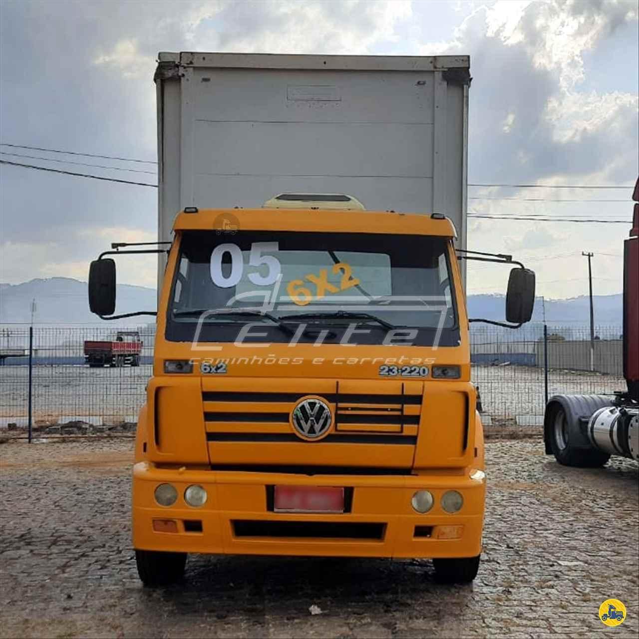 CAMINHAO VOLKSWAGEN VW 23220 Baú Sider Truck 6x2 Elite Caminhões ESTIVA MINAS GERAIS MG