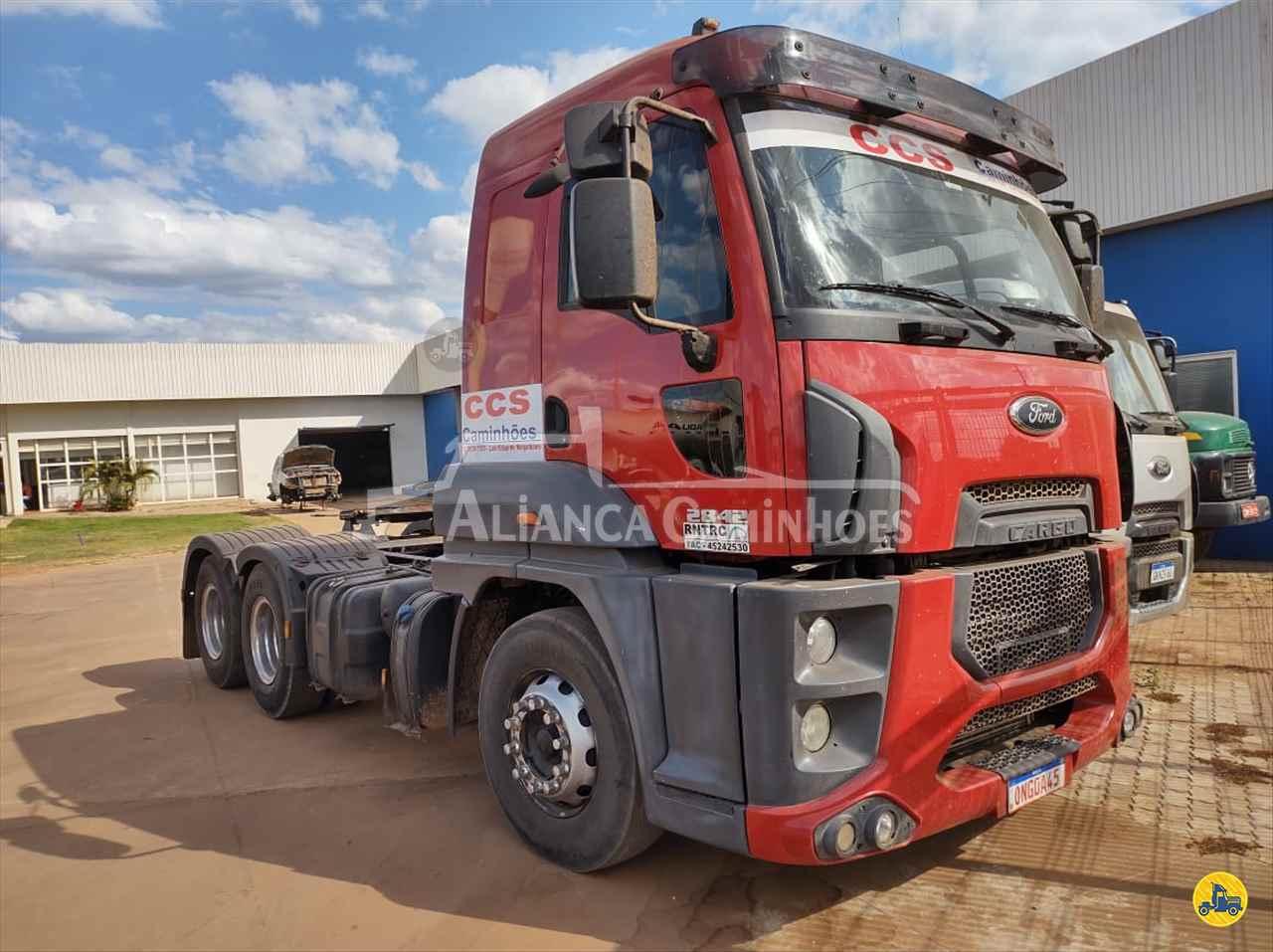 CAMINHAO FORD CARGO 2842 Cavalo Mecânico Truck 6x2 Aliança Caminhões LUIS EDUARDO MAGALHAES BAHIA BA