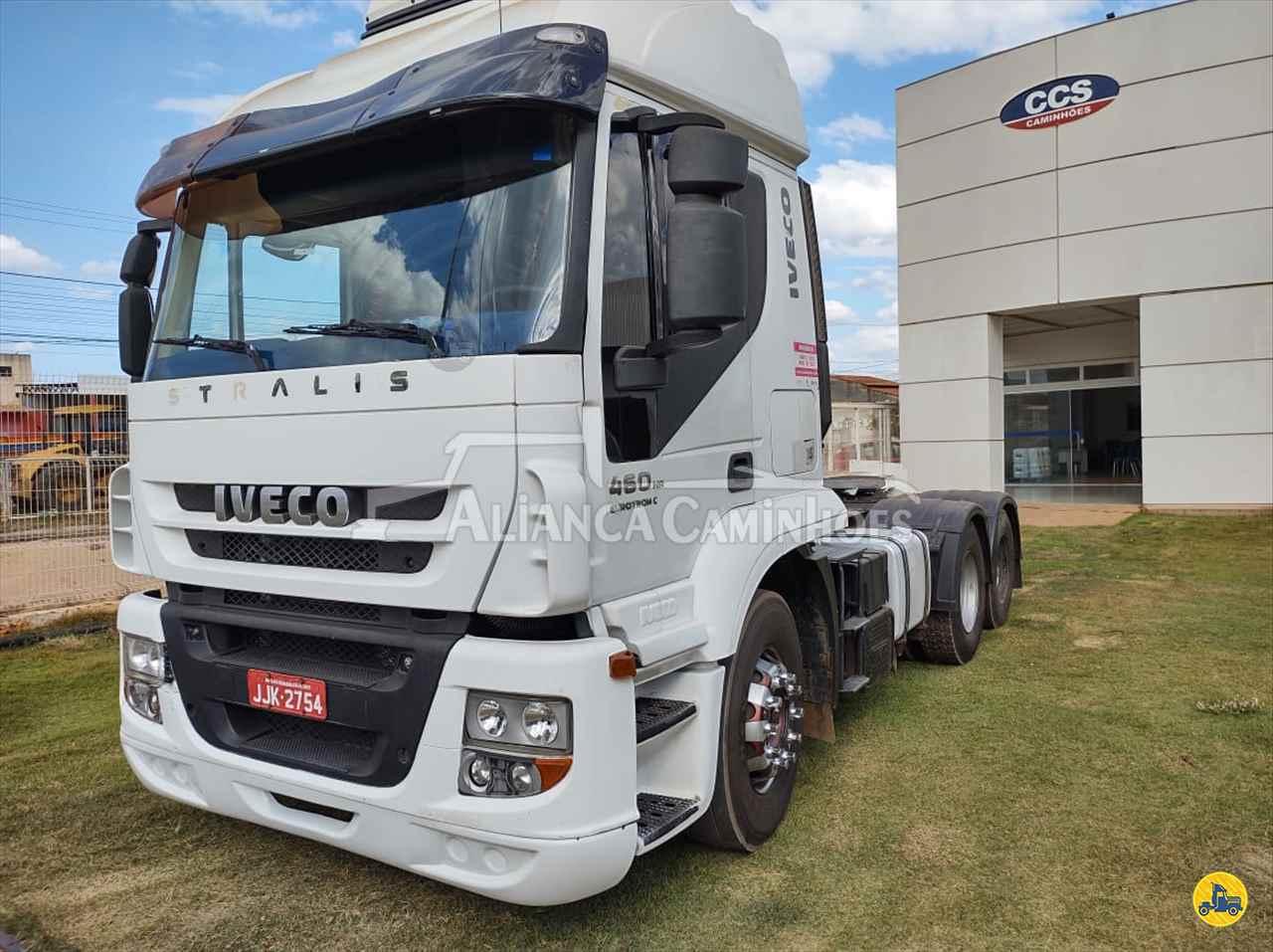 CAMINHAO IVECO STRALIS 460 Cavalo Mecânico Truck 6x2 Aliança Caminhões LUIS EDUARDO MAGALHAES BAHIA BA