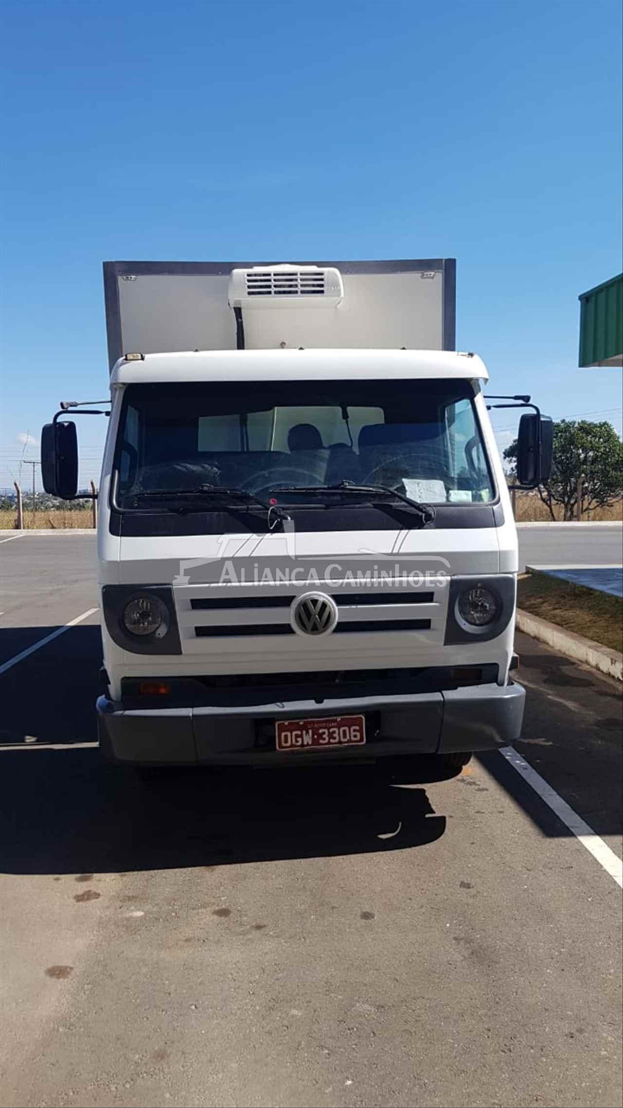 CAMINHAO VOLKSWAGEN VW 8150 Baú Térmico 3/4 4x2 Aliança Caminhões LUIS EDUARDO MAGALHAES BAHIA BA