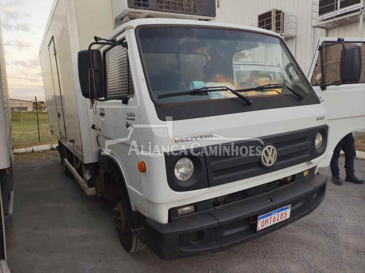 CAMINHAO VOLKSWAGEN VW 8160 Baú Térmico 3/4 4x2 Aliança Caminhões LUIS EDUARDO MAGALHAES BAHIA BA