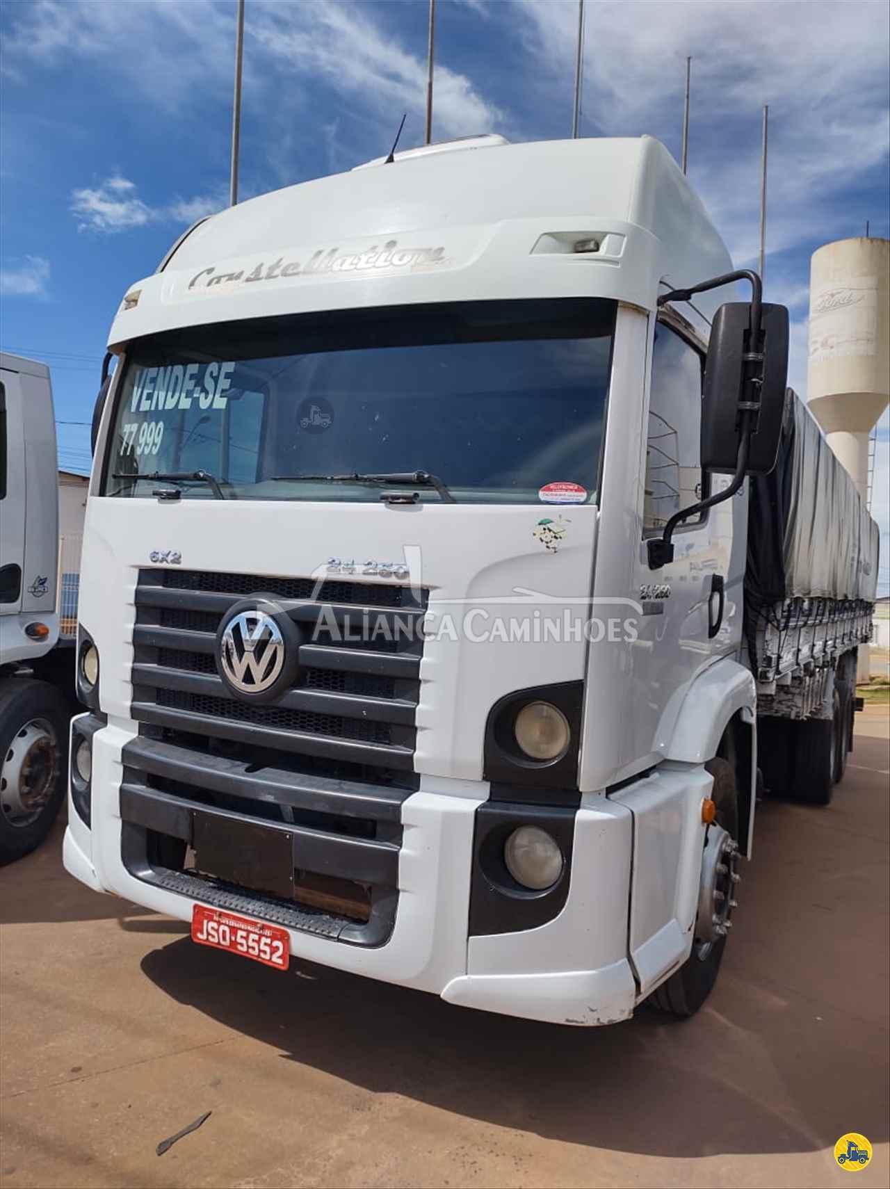 CAMINHAO VOLKSWAGEN VW 24250 Carga Seca Truck 6x2 Aliança Caminhões LUIS EDUARDO MAGALHAES BAHIA BA