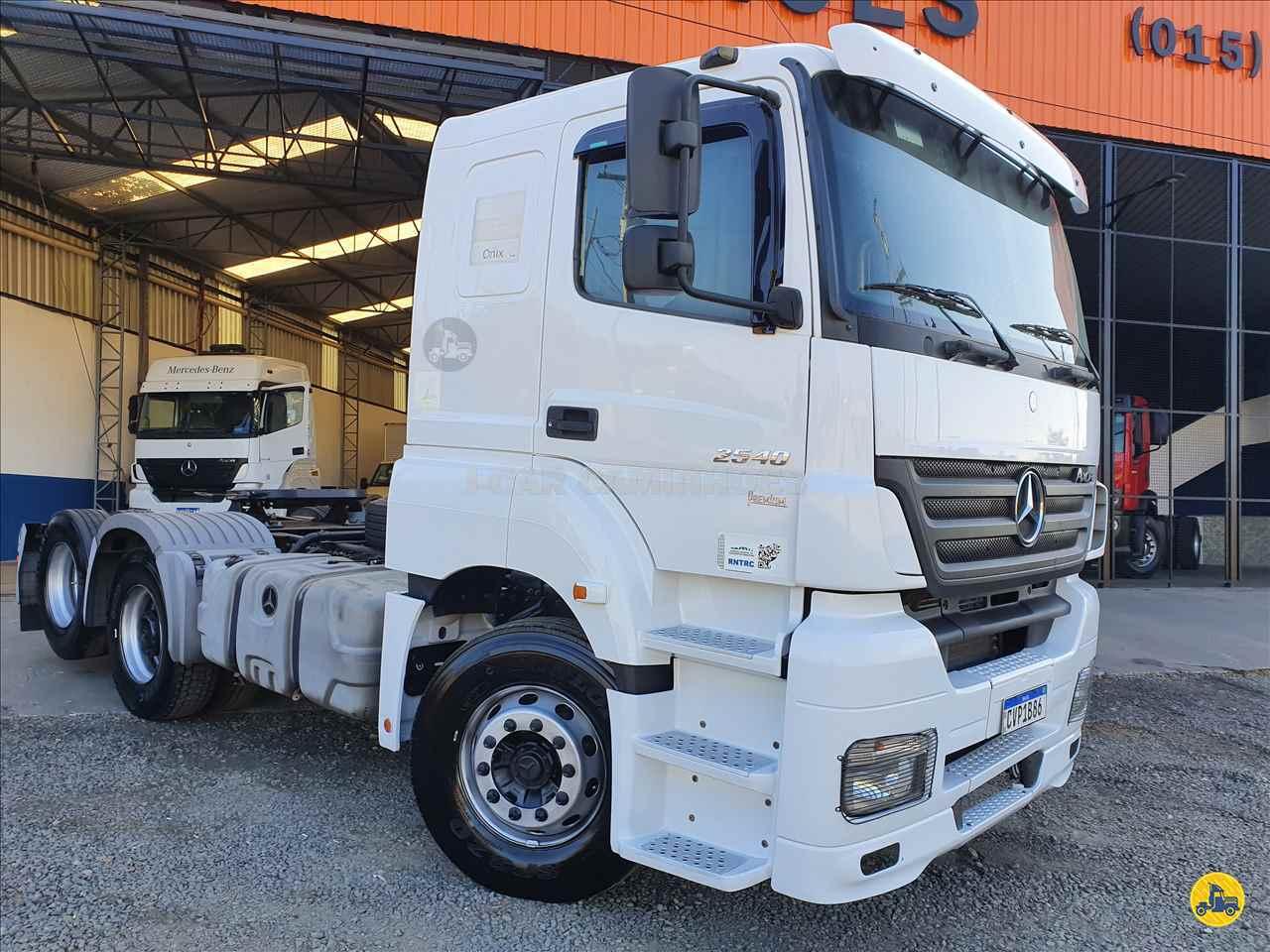 CAMINHAO MERCEDES-BENZ MB 2540 Cavalo Mecânico Truck 6x2 J Car Caminhões CESARIO LANGE SÃO PAULO SP