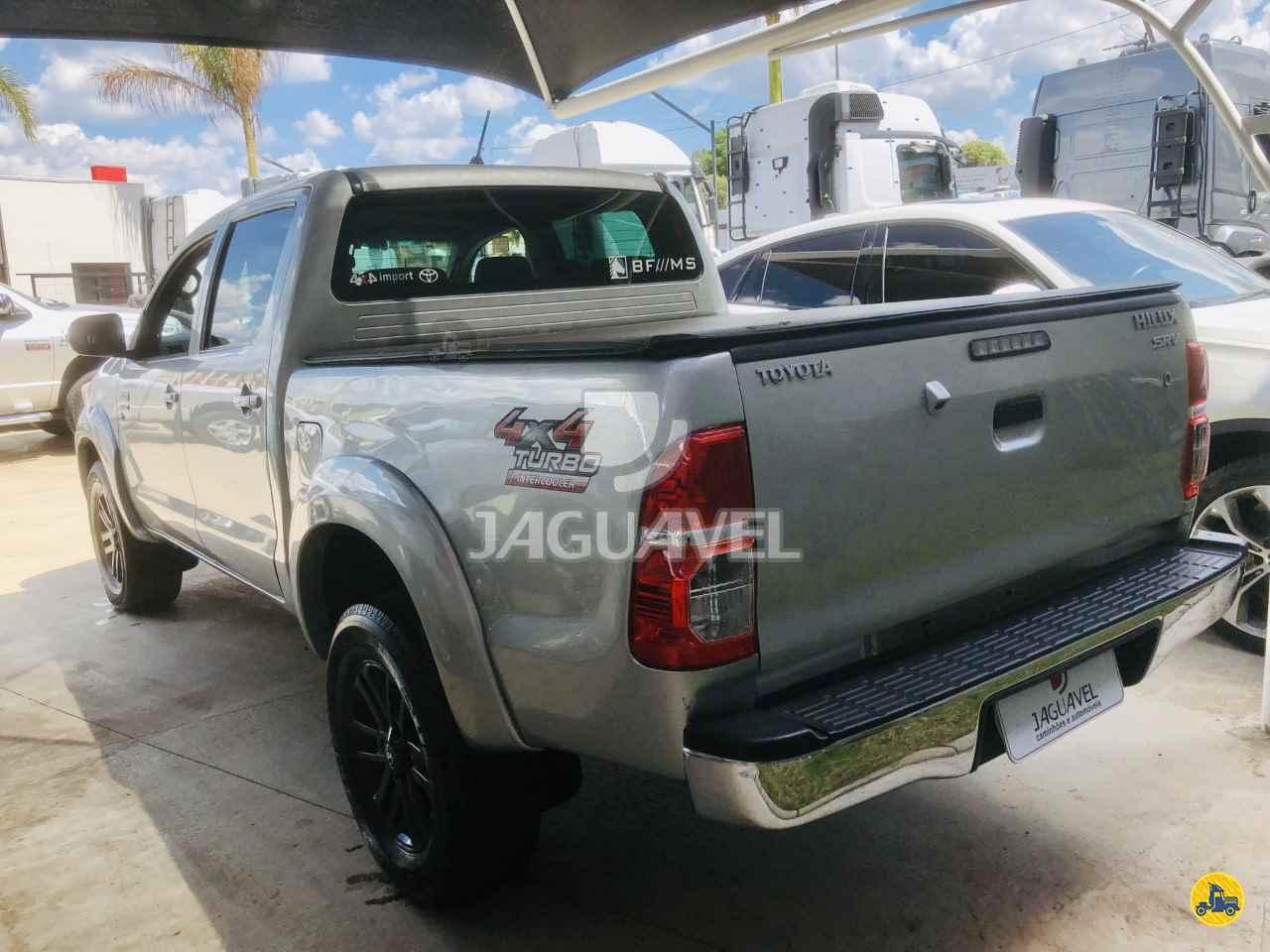 TOYOTA Hilux 2.7 SRV 100000km 2012/2012 Jaguavel Caminhões
