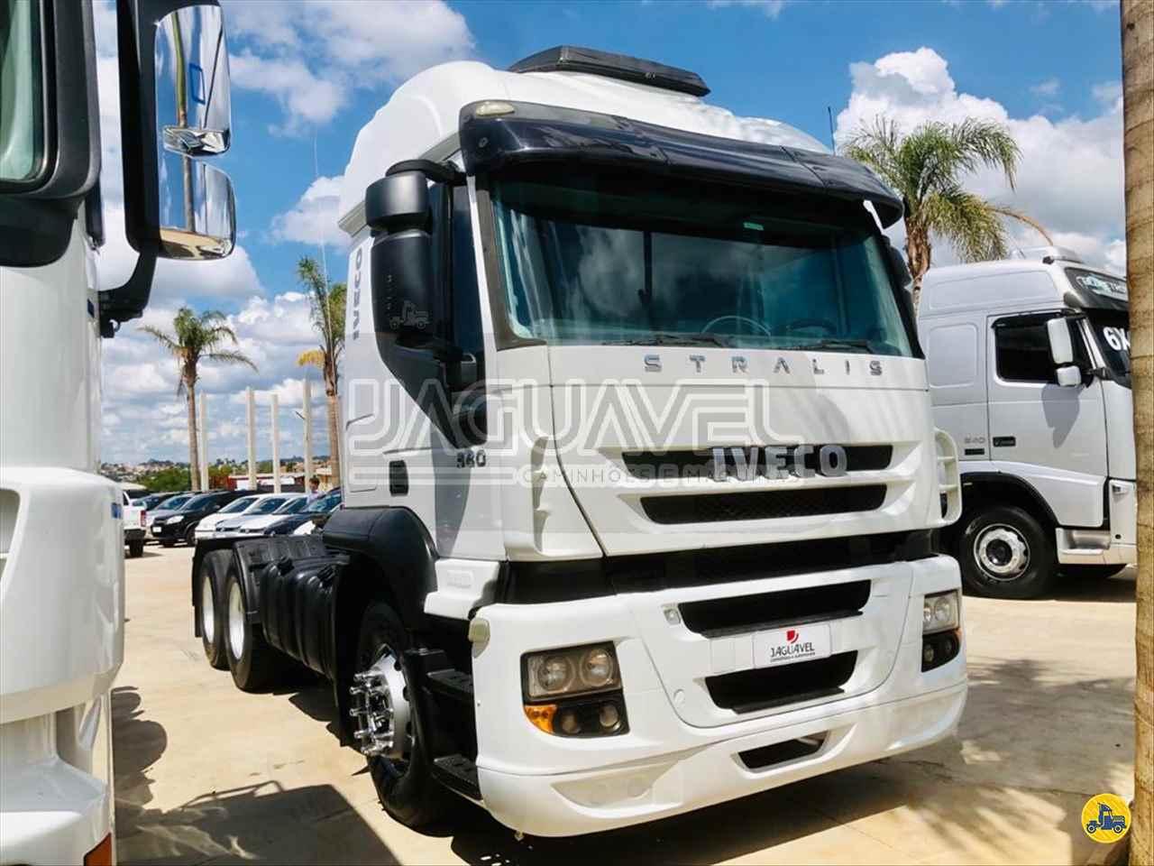 CAMINHAO IVECO STRALIS 380 Cavalo Mecânico 3/4 6x2 Jaguavel Caminhões JAGUARIAIVA PARANÁ PR