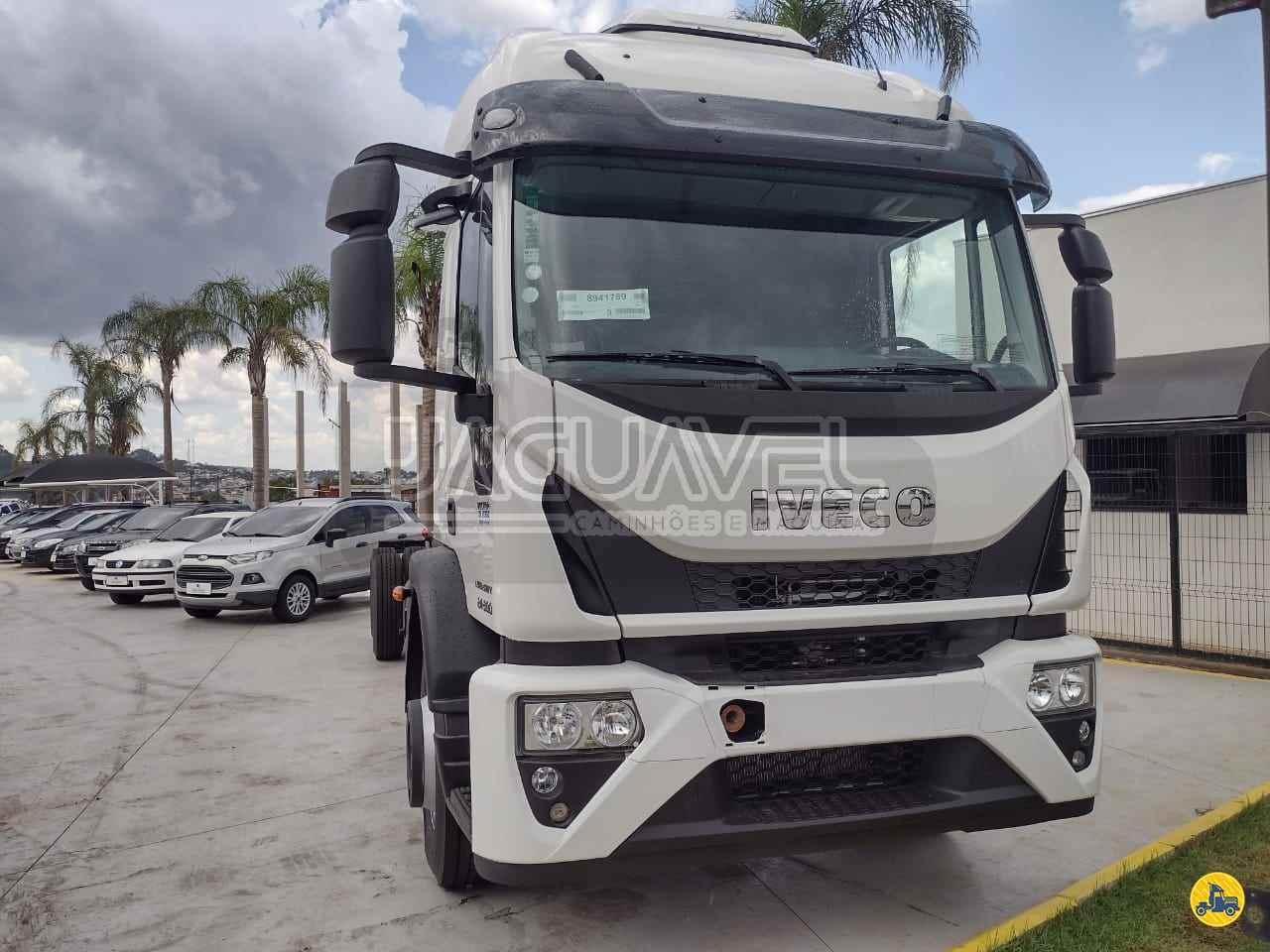 CAMINHAO IVECO Tector 24 300 Chassis Truck 6x2 Jaguavel Caminhões JAGUARIAIVA PARANÁ PR