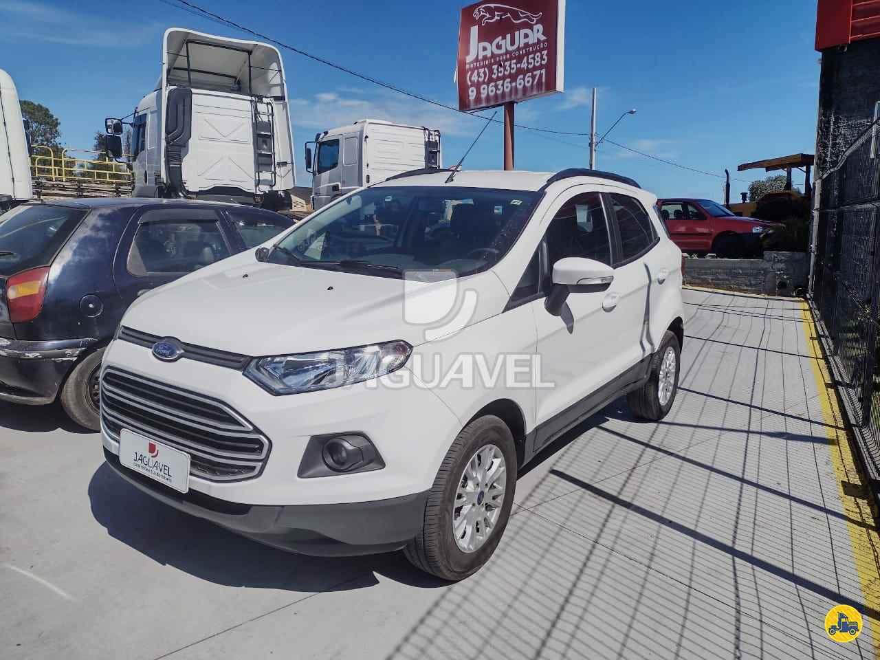 CARRO FORD EcoSport 1.6 SE Jaguavel Caminhões JAGUARIAIVA PARANÁ PR