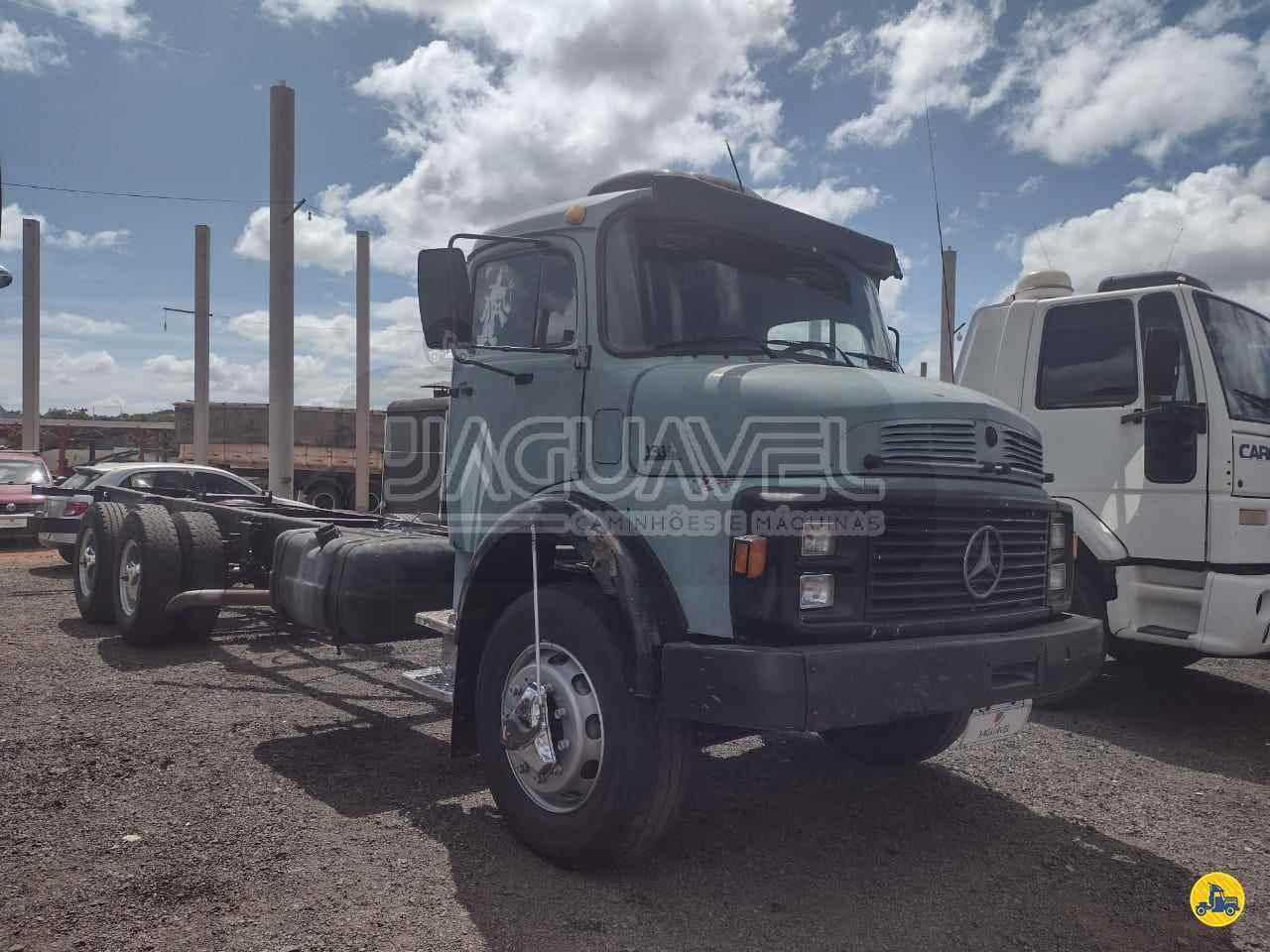 CAMINHAO MERCEDES-BENZ MB 1314 Chassis Truck 6x2 Jaguavel Caminhões JAGUARIAIVA PARANÁ PR