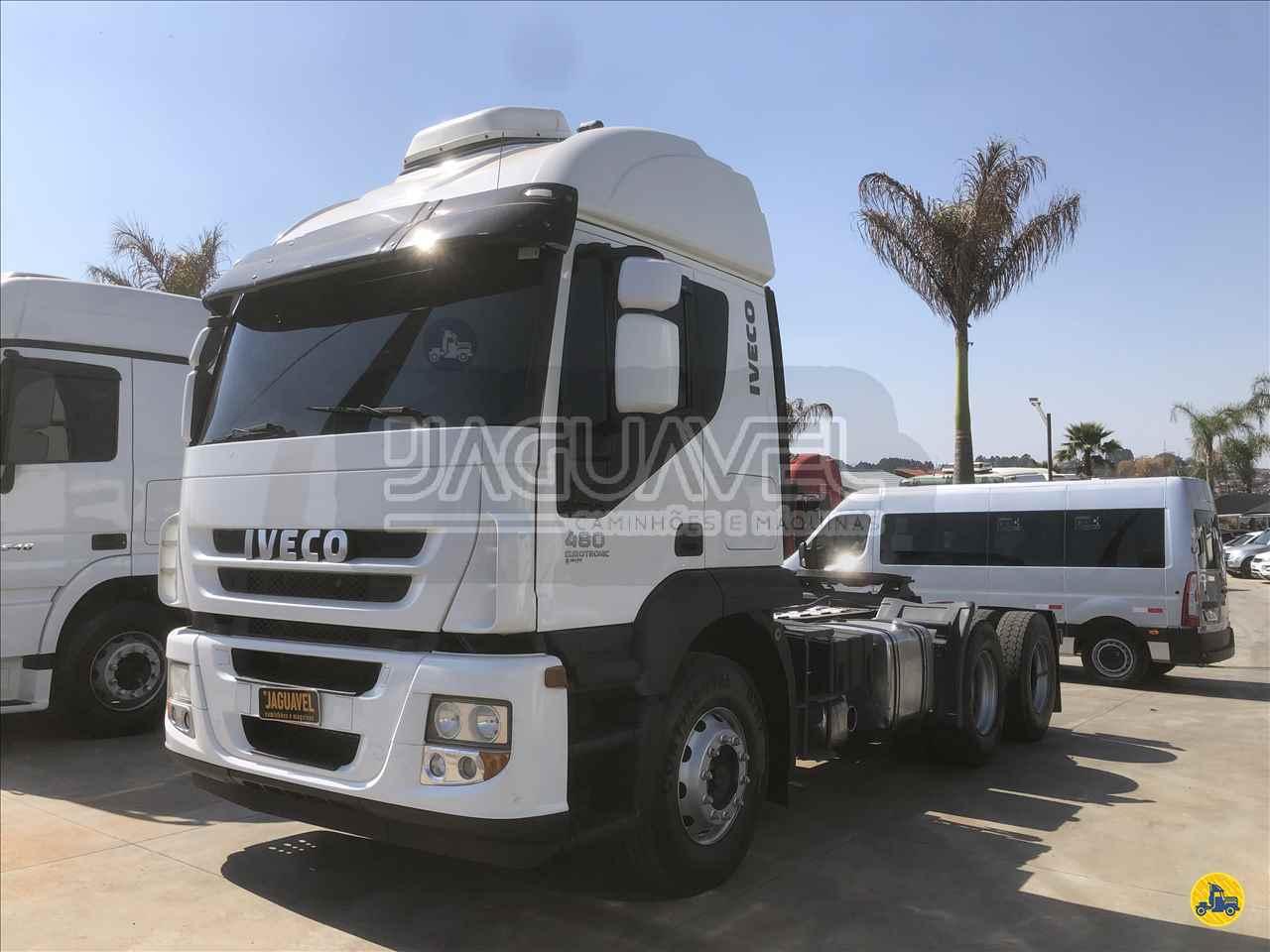 CAMINHAO IVECO STRALIS 480 Cavalo Mecânico 3/4 6x2 Jaguavel Caminhões JAGUARIAIVA PARANÁ PR