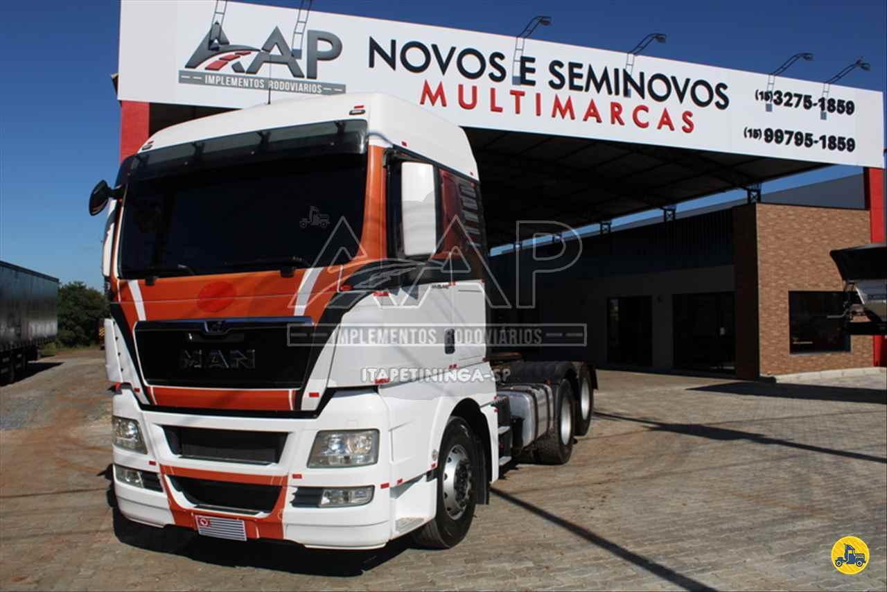 CAMINHAO MAN TGX 28 440 Cavalo Mecânico Truck 6x2 AAP Implementos Rodoviários ITAPETININGA SÃO PAULO SP