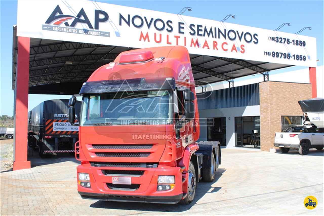 CAMINHAO IVECO STRALIS 440 Cavalo Mecânico Truck 6x2 AAP Implementos Rodoviários ITAPETININGA SÃO PAULO SP