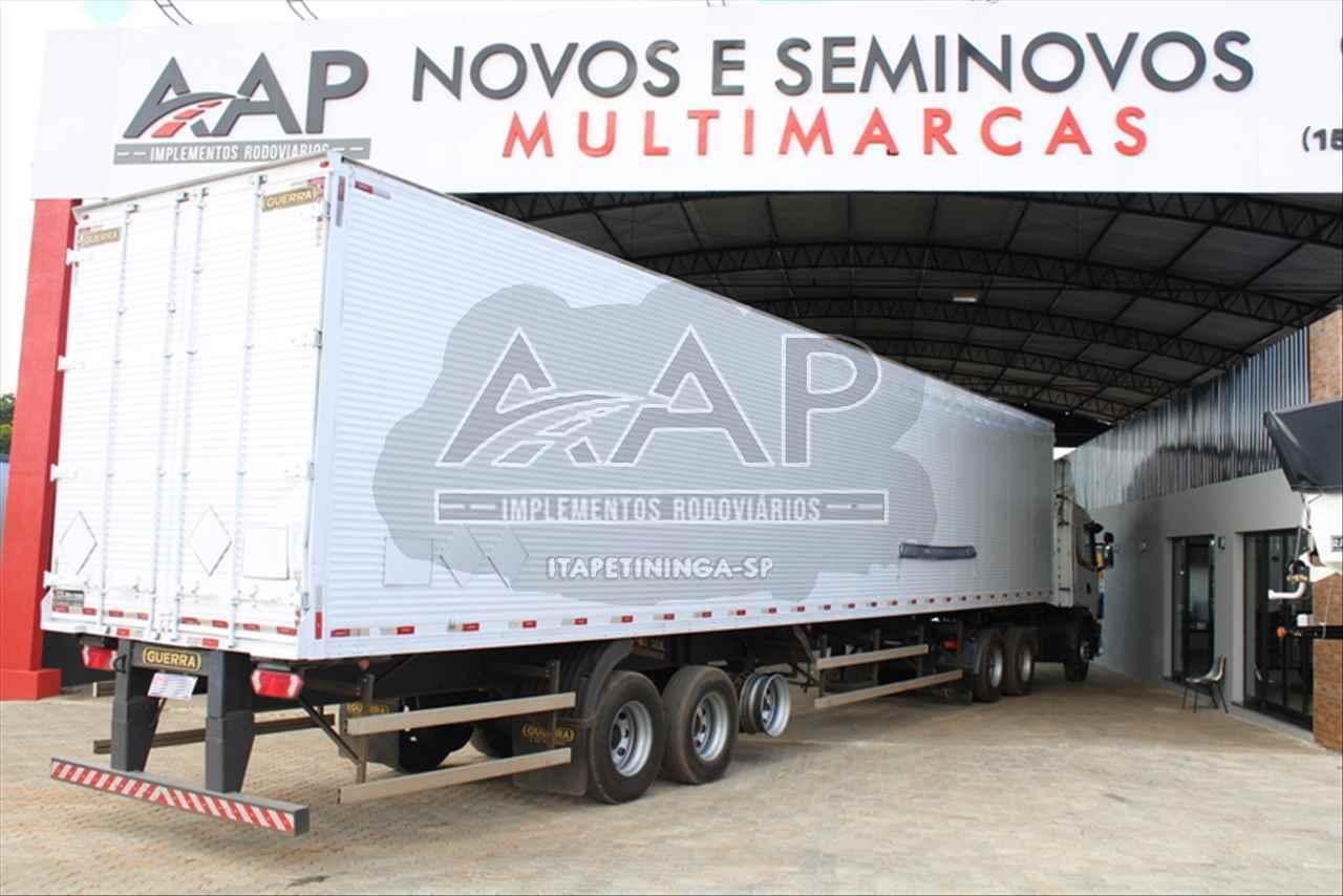 CARRETA SEMI-REBOQUE BAU FURGÃO AAP Implementos Rodoviários ITAPETININGA SÃO PAULO SP