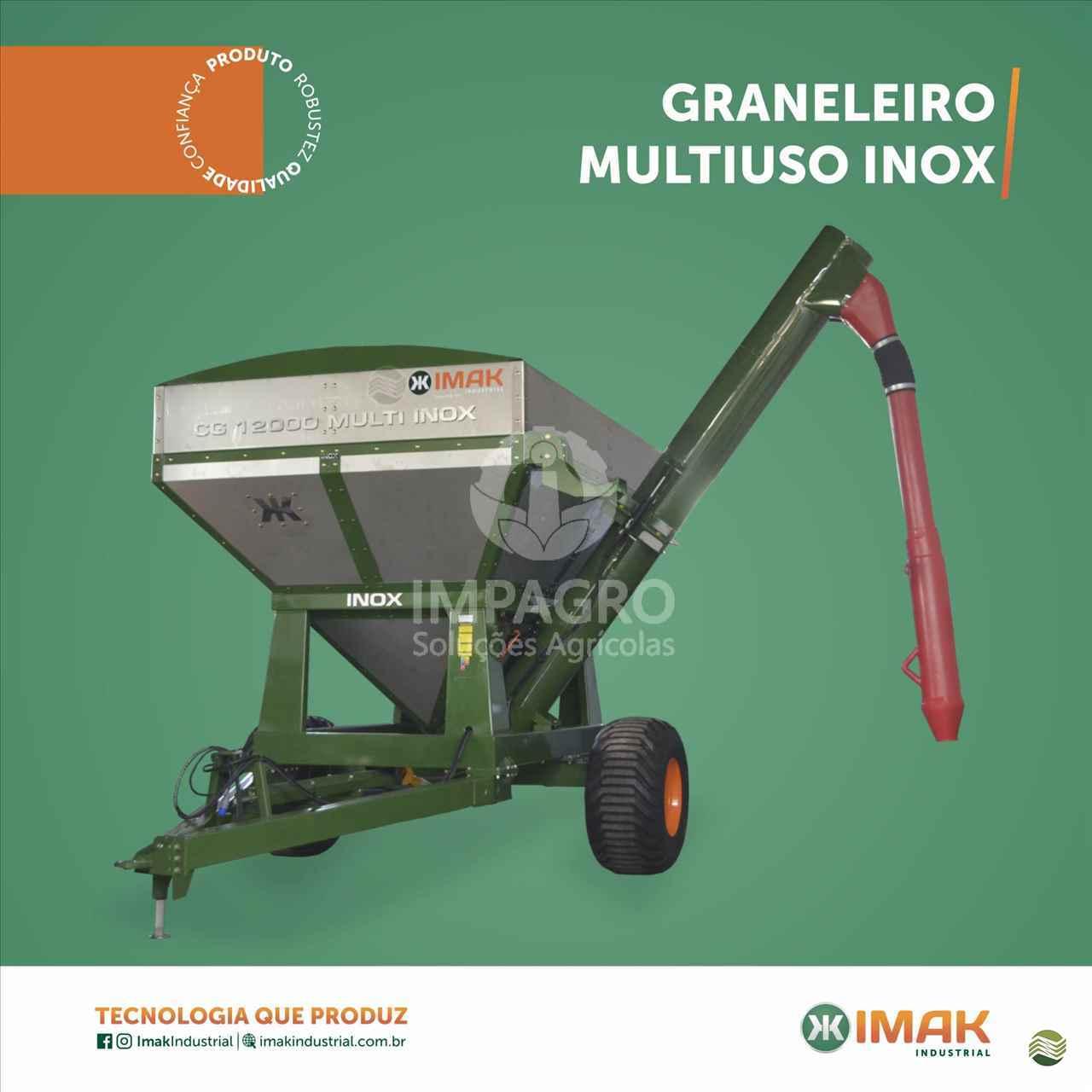 IMPLEMENTOS AGRICOLAS CARRETA BAZUKA GRANELEIRA 12000 Impagro Soluções Agrícolas AJURICABA RIO GRANDE DO SUL RS