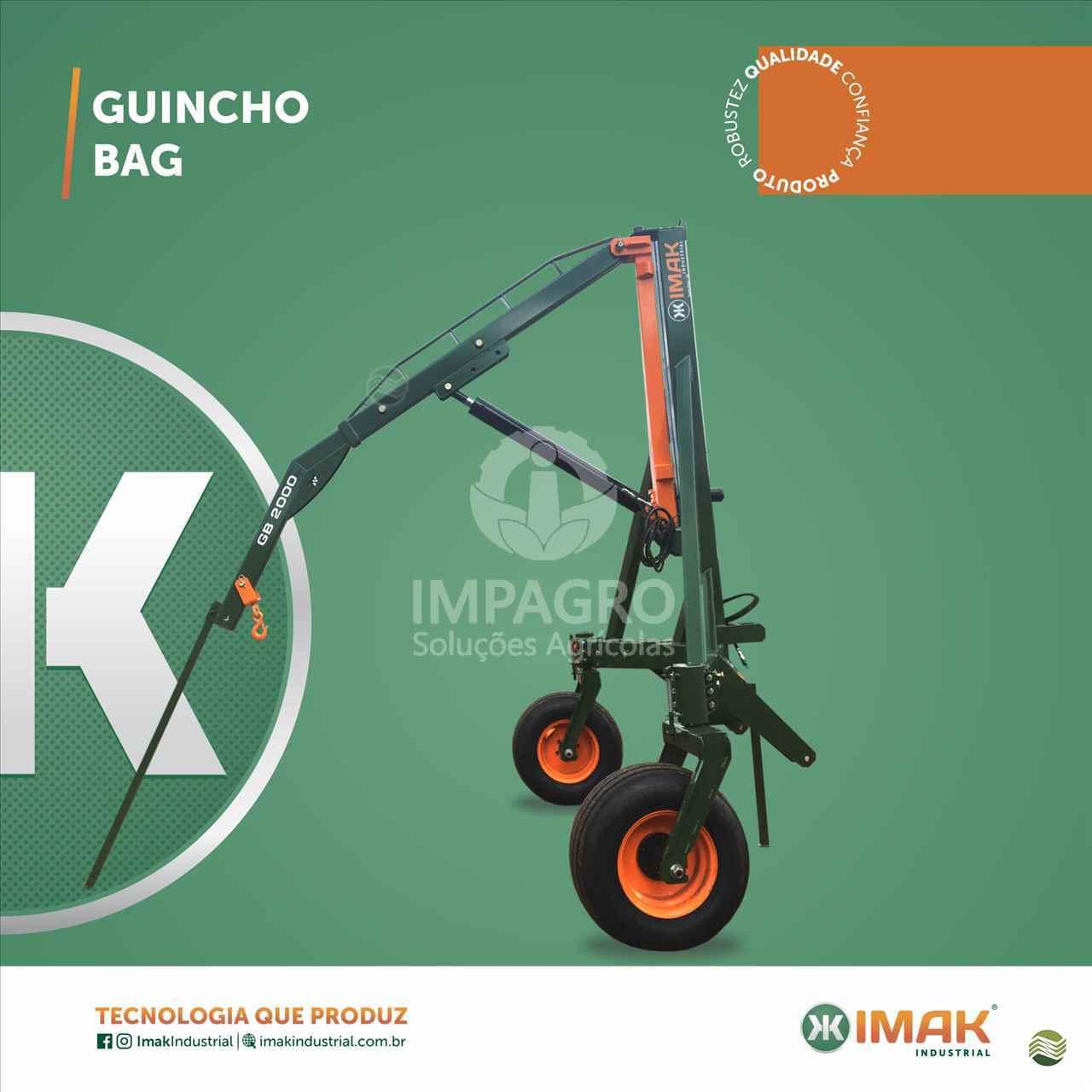 IMPLEMENTOS AGRICOLAS GUINCHO BIG BAG GUINCHO 2000 Kg Impagro Soluções Agrícolas AJURICABA RIO GRANDE DO SUL RS