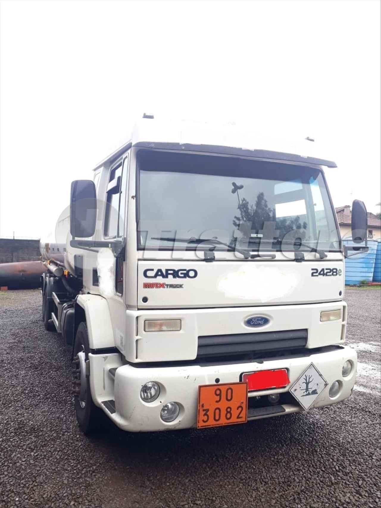 CAMINHAO FORD CARGO 2428 Tanque Aço Truck 6x2 Trattore Máquinas e Implementos SERTAO RIO GRANDE DO SUL RS