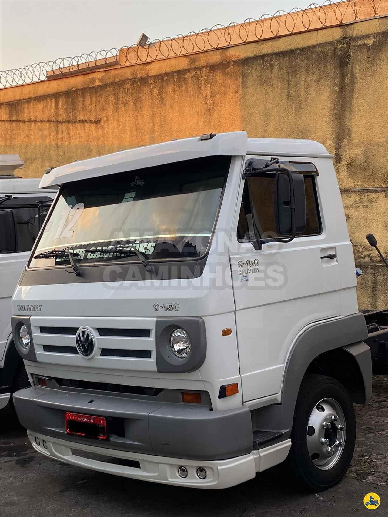 CAMINHAO VOLKSWAGEN VW 9150 Chassis 3/4 6x2 Amazonas Caminhões BELO HORIZONTE MINAS GERAIS MG