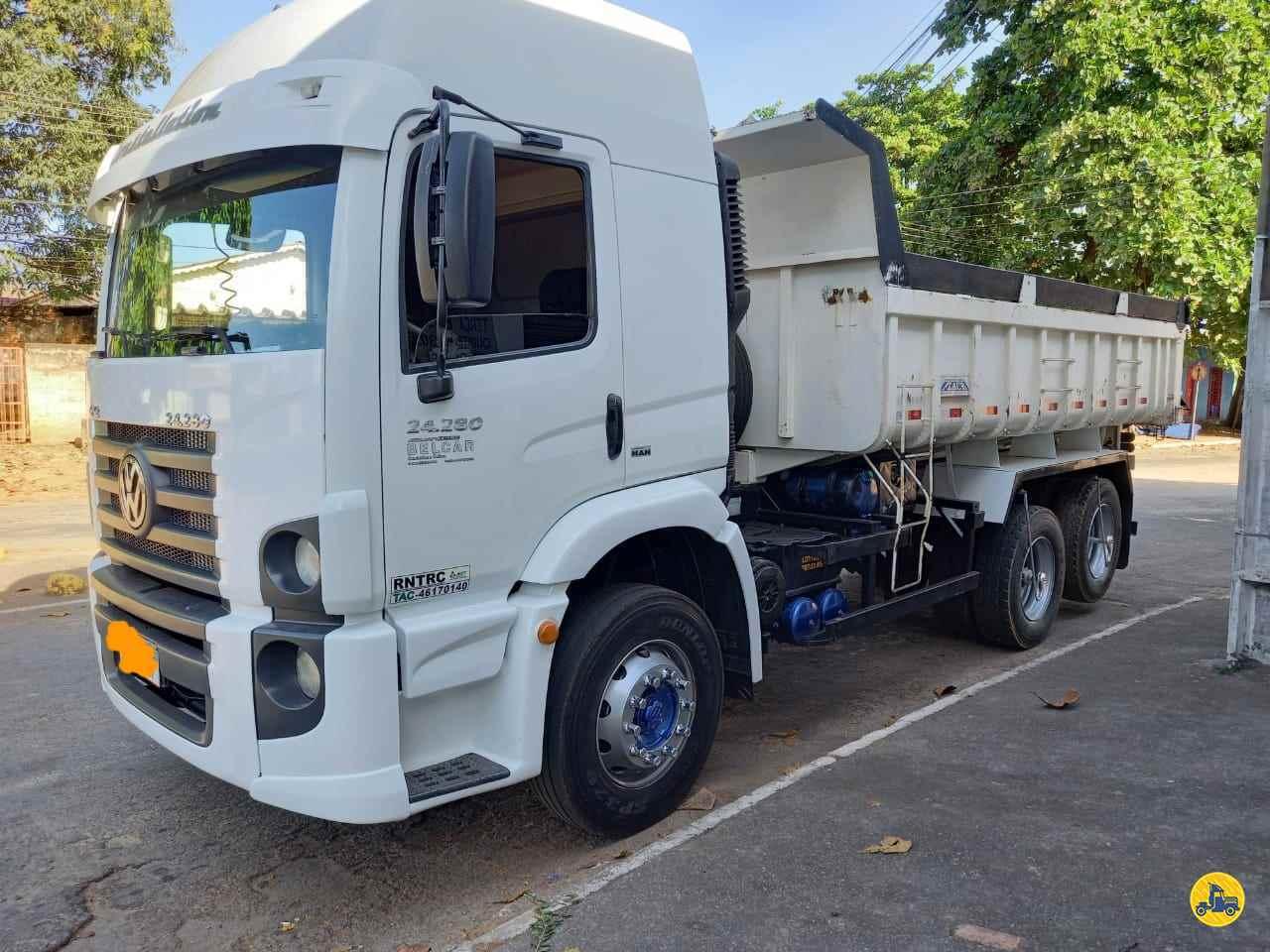 CAMINHAO VOLKSWAGEN VW 24280 Caçamba Basculante Truck 6x2 Usados Rio Verde Caminhões e Carretas RIO VERDE GOIAS GO
