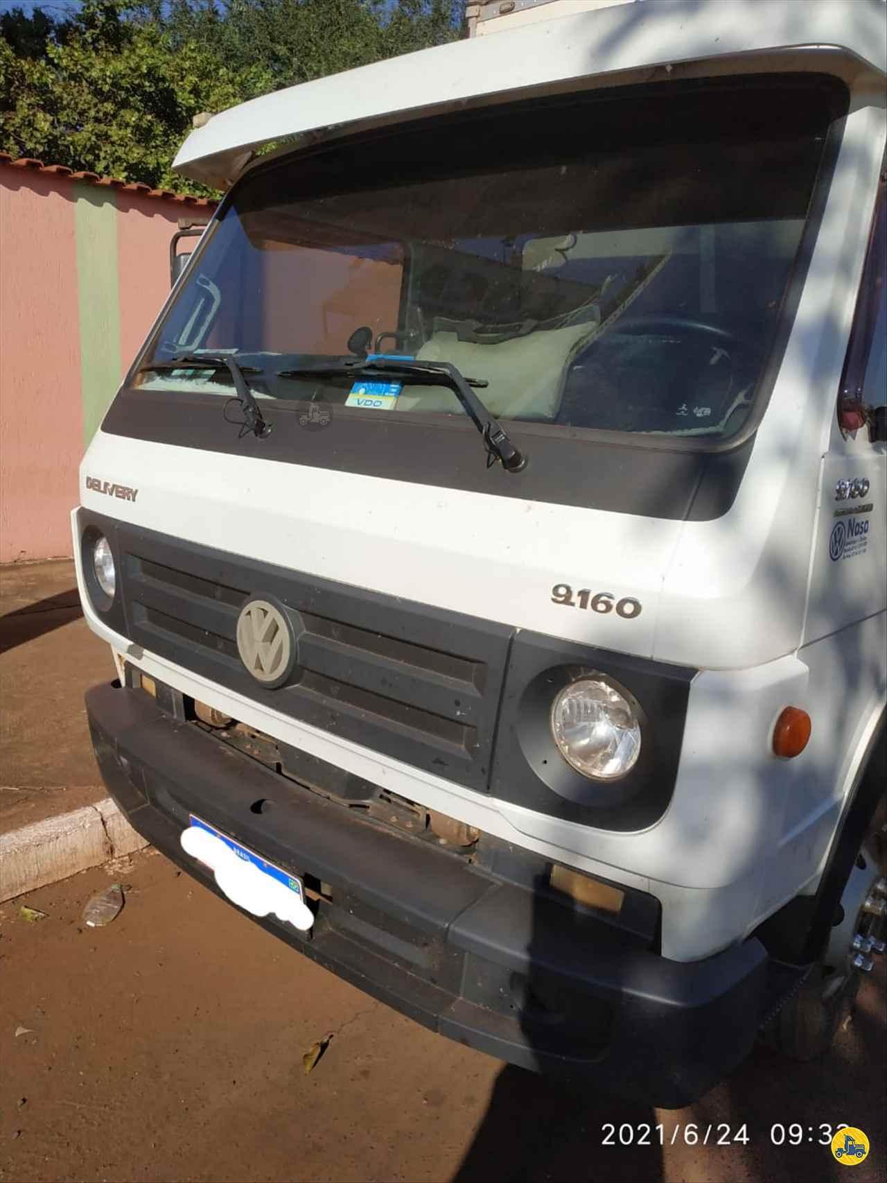 CAMINHAO VOLKSWAGEN VW 9160 Baú Furgão 3/4 4x2 Usados Rio Verde Caminhões e Carretas RIO VERDE GOIAS GO