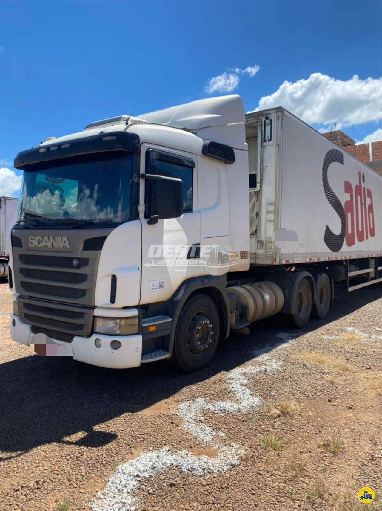 CAMINHAO SCANIA SCANIA 380 Cavalo Mecânico Truck 6x2 Oeste Caminhões  CORDILHEIRA ALTA SANTA CATARINA SC
