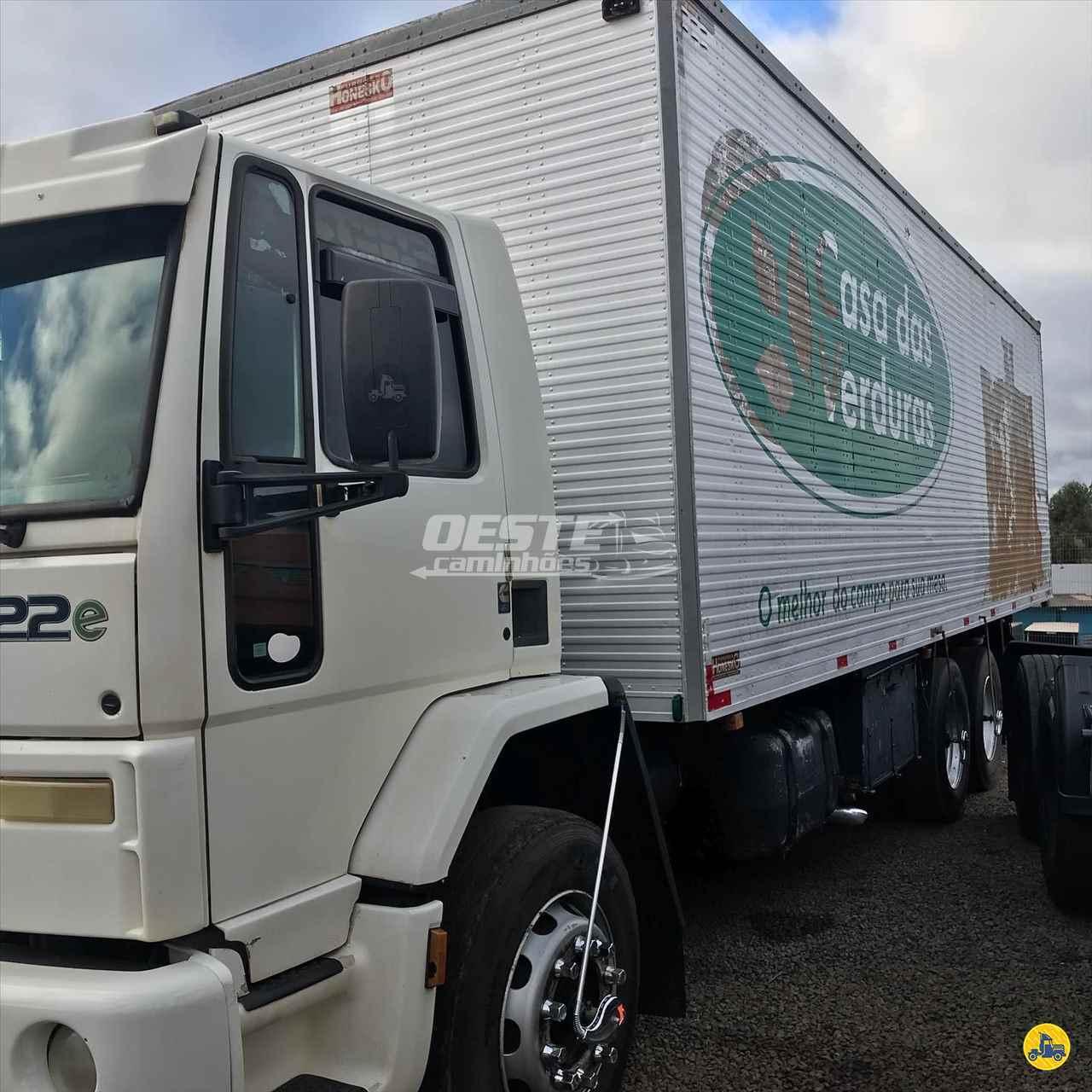 CAMINHAO FORD CARGO 2322 Baú Furgão Truck 6x2 Oeste Caminhões  CORDILHEIRA ALTA SANTA CATARINA SC