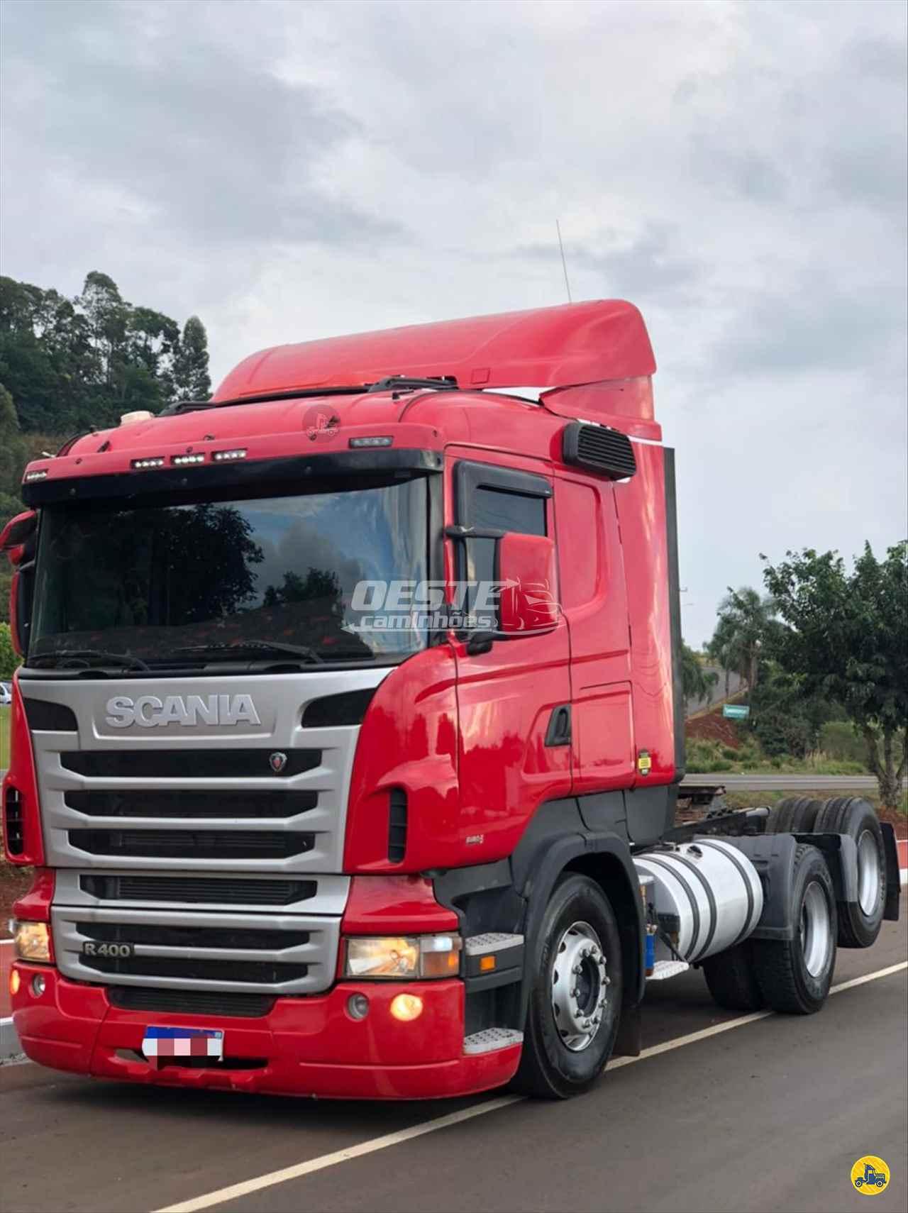 CAMINHAO SCANIA SCANIA 400 Cavalo Mecânico Truck 6x2 Oeste Caminhões  CORDILHEIRA ALTA SANTA CATARINA SC