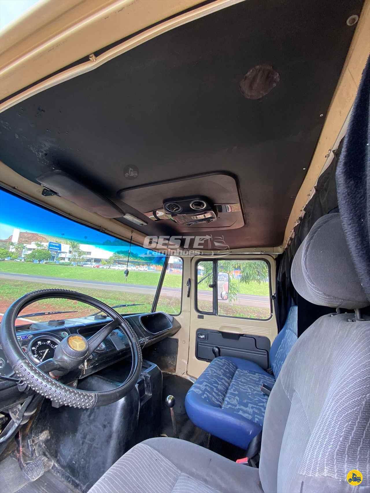 CAMINHAO MERCEDES-BENZ MB 608 Baú Furgão 3/4 4x2 Oeste Caminhões  CORDILHEIRA ALTA SANTA CATARINA SC