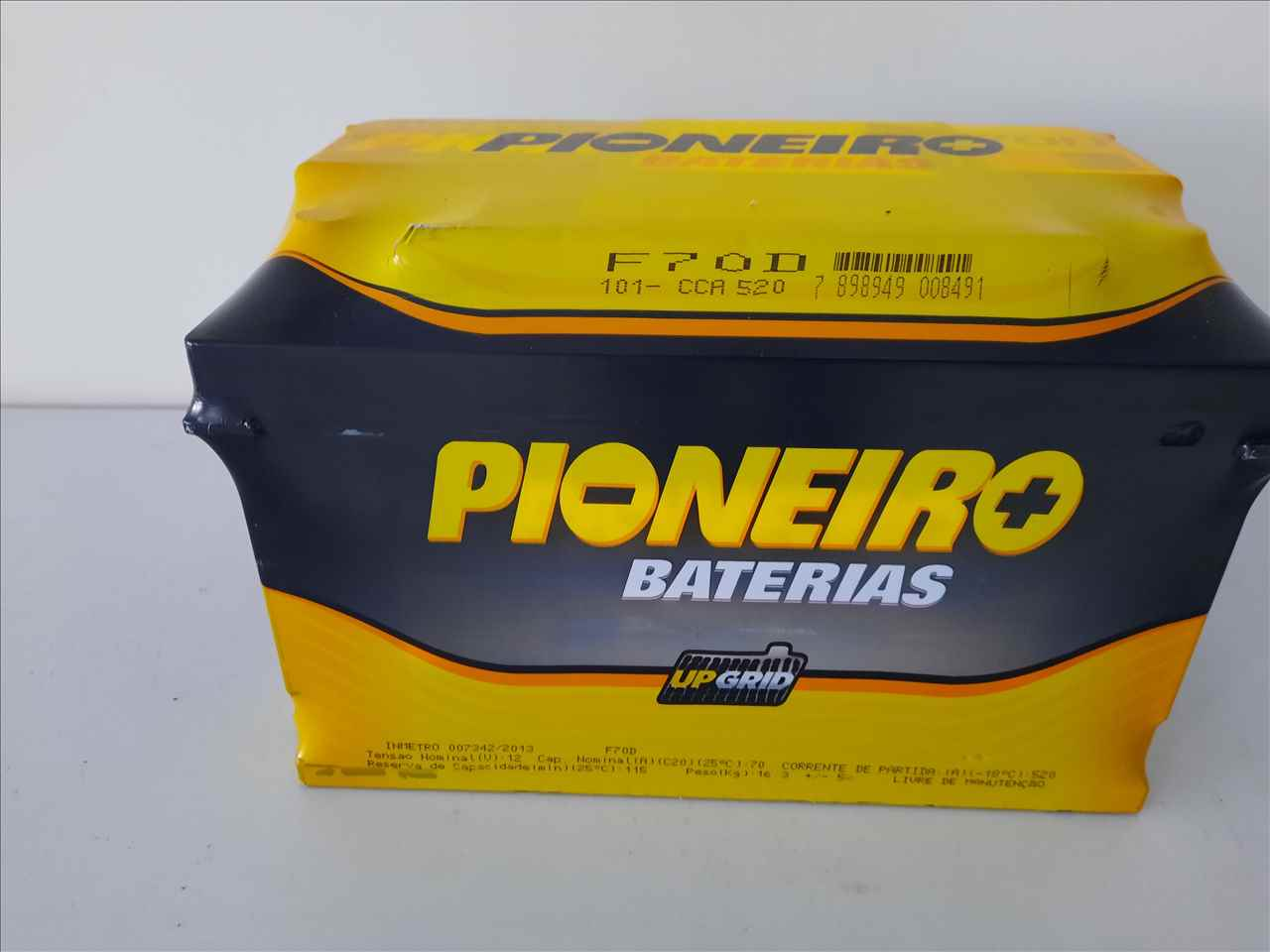 BATERIA 70AH PIONEIRO