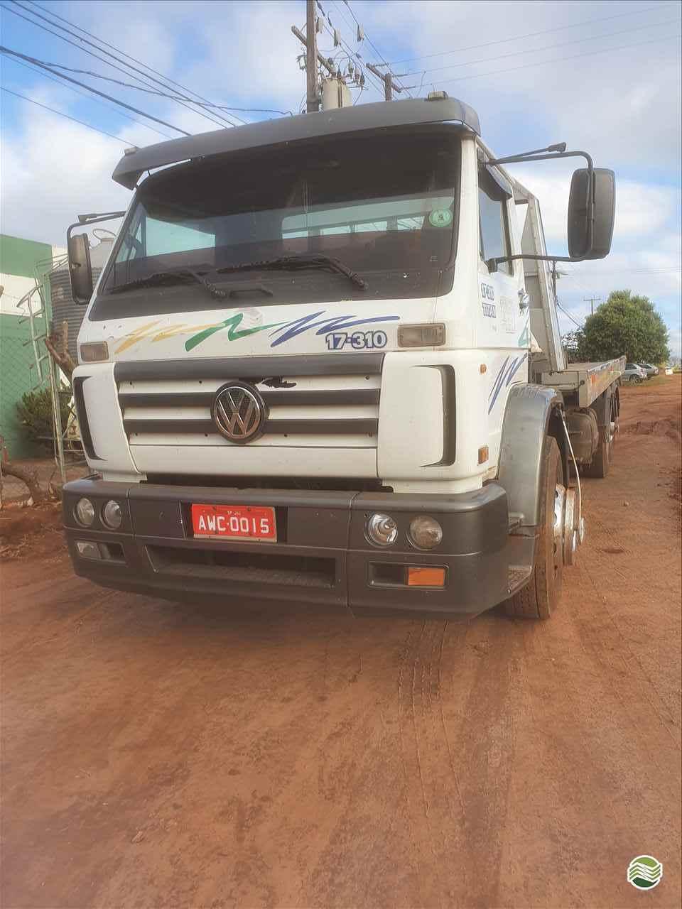 CAMINHAO VOLKSWAGEN VW 17310 Plataforma Guincho Truck 6x2 Implementos Betel UMUARAMA PARANÁ PR