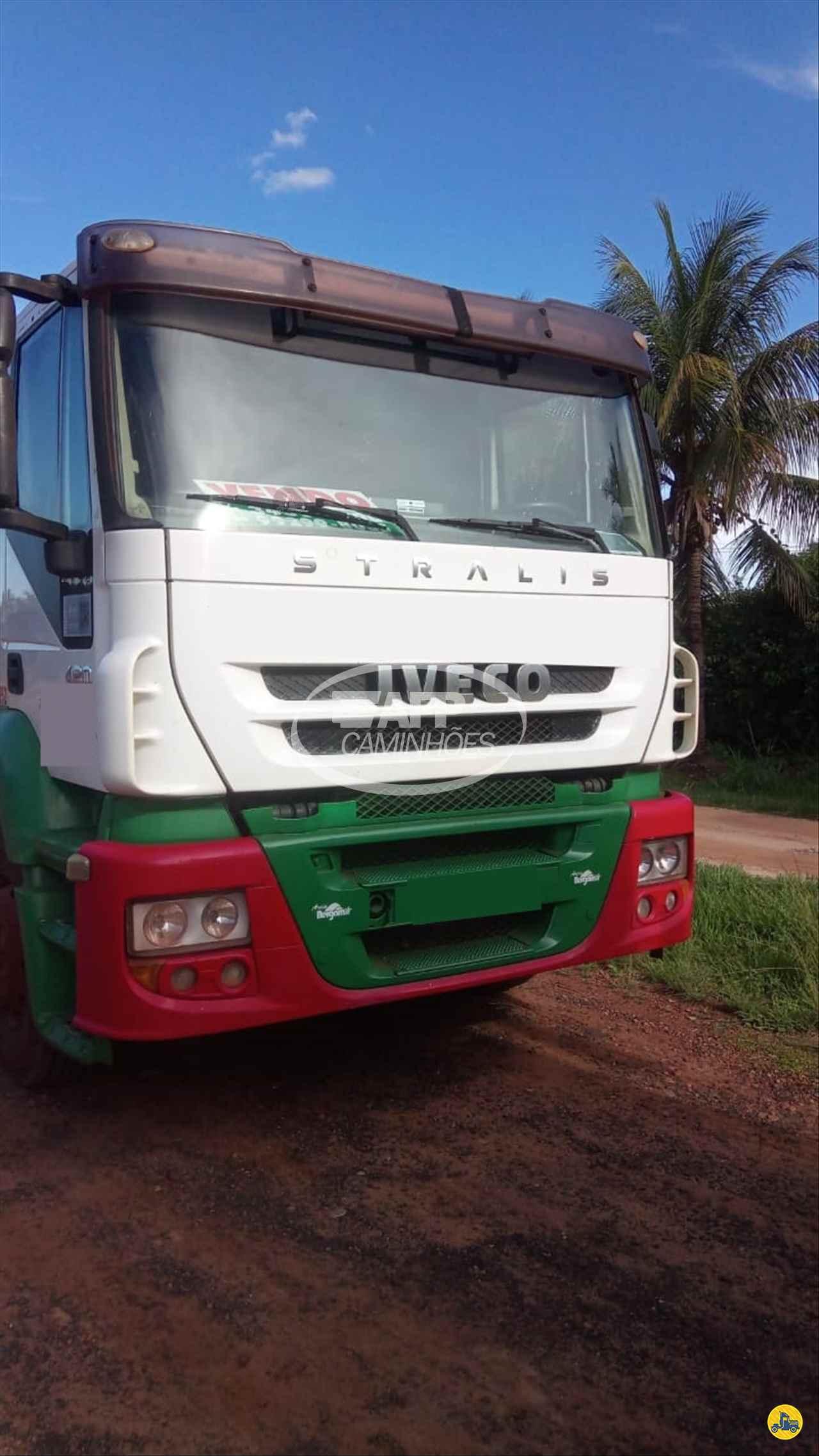 CAMINHAO IVECO STRALIS 420 Cavalo Mecânico Truck 6x2 AFP Caminhões UBERLANDIA MINAS GERAIS MG