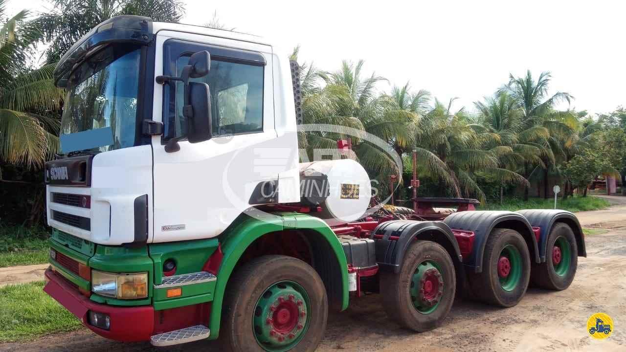 CAMINHAO SCANIA SCANIA 124 420 Cavalo Mecânico BiTruck 8x4 AFP Caminhões UBERLANDIA MINAS GERAIS MG