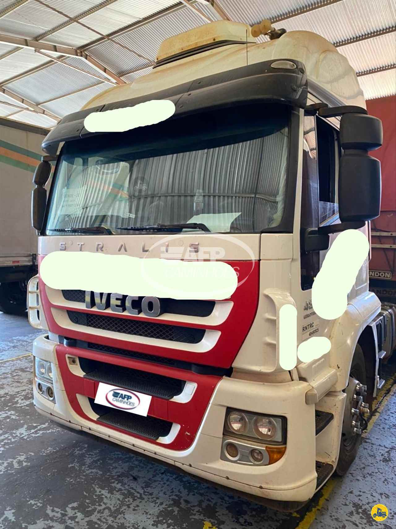CAMINHAO IVECO STRALIS 480 Cavalo Mecânico Traçado 6x4 AFP Caminhões UBERLANDIA MINAS GERAIS MG