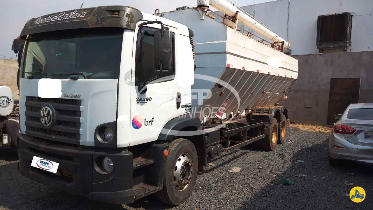 CAMINHAO VOLKSWAGEN VW 24280 Silo Truck 6x2 AFP Caminhões UBERLANDIA MINAS GERAIS MG