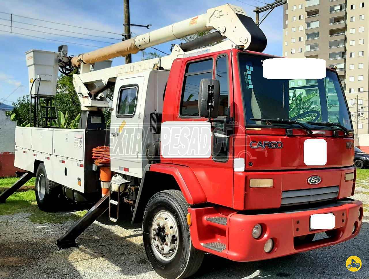 CAMINHAO FORD CARGO 1317 Cesto Aereo Isolado Toco 4x2 ExtraPesado Caminhões SANTO ANDRE SÃO PAULO SP