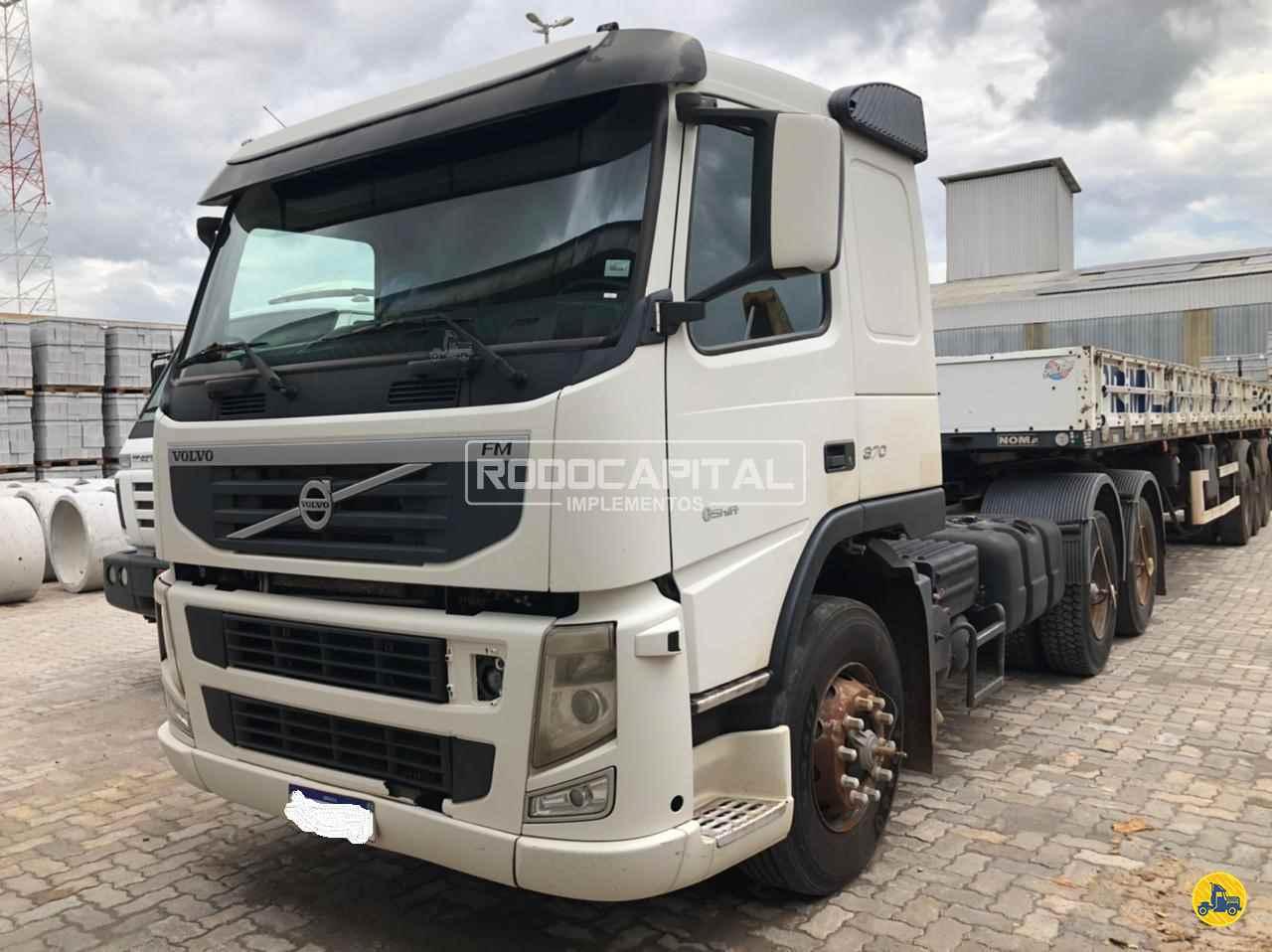 CAMINHAO VOLVO VOLVO FM 370 Cavalo Mecânico Truck 6x2 RODOCAPITAL - TRUCKVAN BRASILIA DISTRITO FEDERAL DF