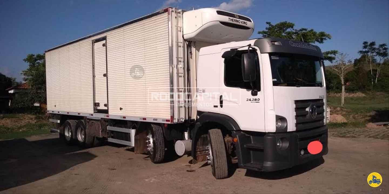 CAMINHAO VOLKSWAGEN VW 24280 Baú Frigorífico BiTruck 8x2 RODOCAPITAL Implementos BRASILIA DISTRITO FEDERAL DF