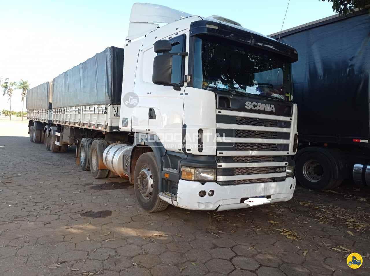 CAMINHAO SCANIA SCANIA P420 Graneleiro Truck 6x2 RODOCAPITAL - TRUCKVAN BRASILIA DISTRITO FEDERAL DF