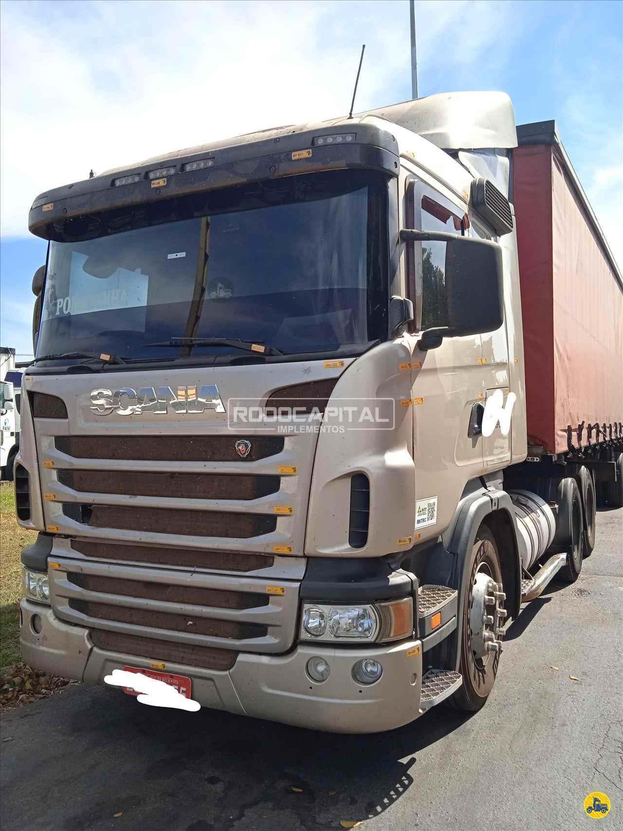 CAMINHAO SCANIA SCANIA 124 420 Cavalo Mecânico Truck 6x2 RODOCAPITAL - TRUCKVAN BRASILIA DISTRITO FEDERAL DF