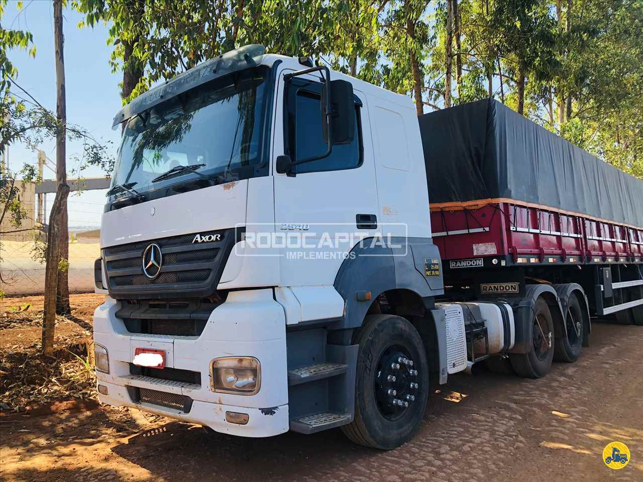 CAMINHAO MERCEDES-BENZ MB 2540 Cavalo Mecânico Truck 6x2 RODOCAPITAL - TRUCKVAN BRASILIA DISTRITO FEDERAL DF