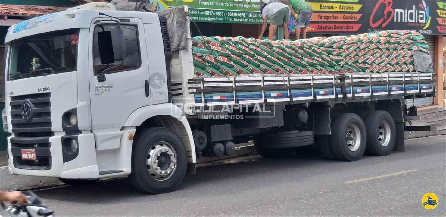 CAMINHAO VOLKSWAGEN VW 24250 Carga Seca Truck 6x2 RODOCAPITAL - TRUCKVAN BRASILIA DISTRITO FEDERAL DF